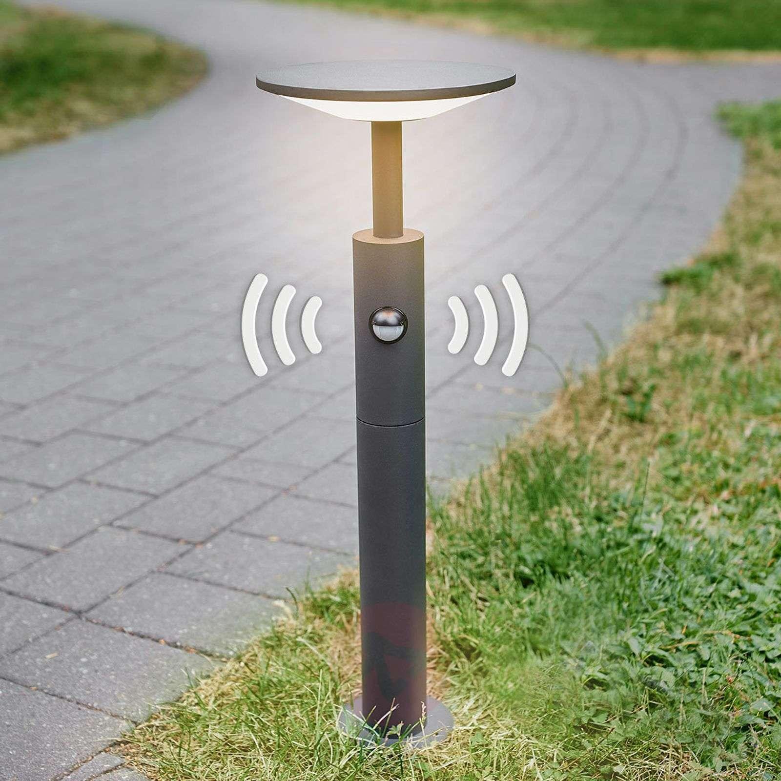 LED-pylväsvalaisin Fenia liiketunnistimella, 60 cm-9619134-020