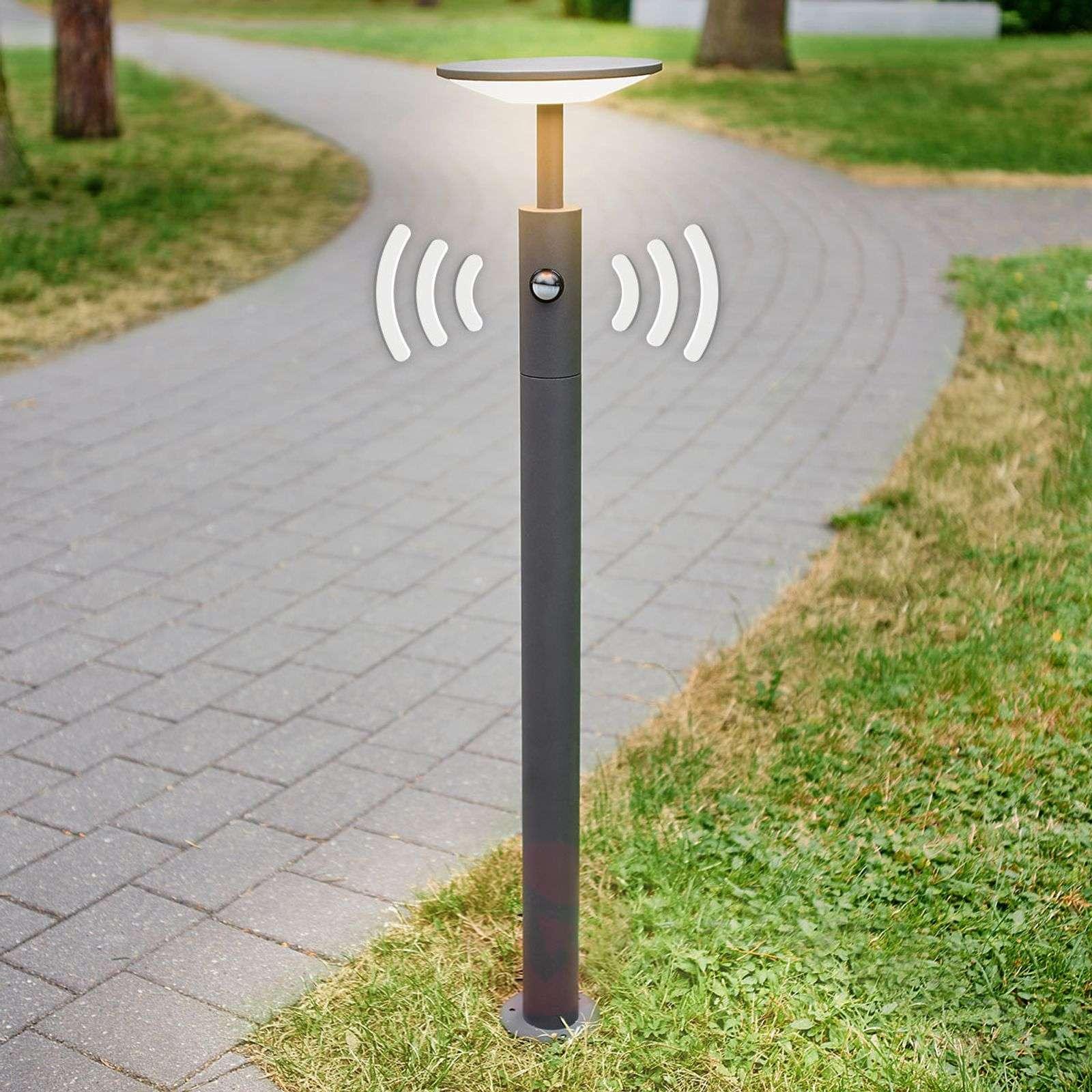 LED-pylväsvalaisin Fenia liiketunnistimella-9619135-020