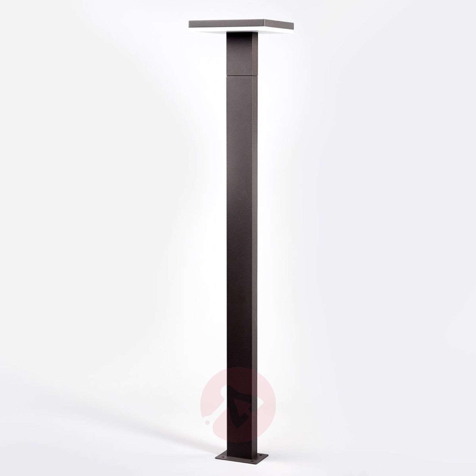LED-pylväsvalo Olesia, tummanharmaa-9619142-03