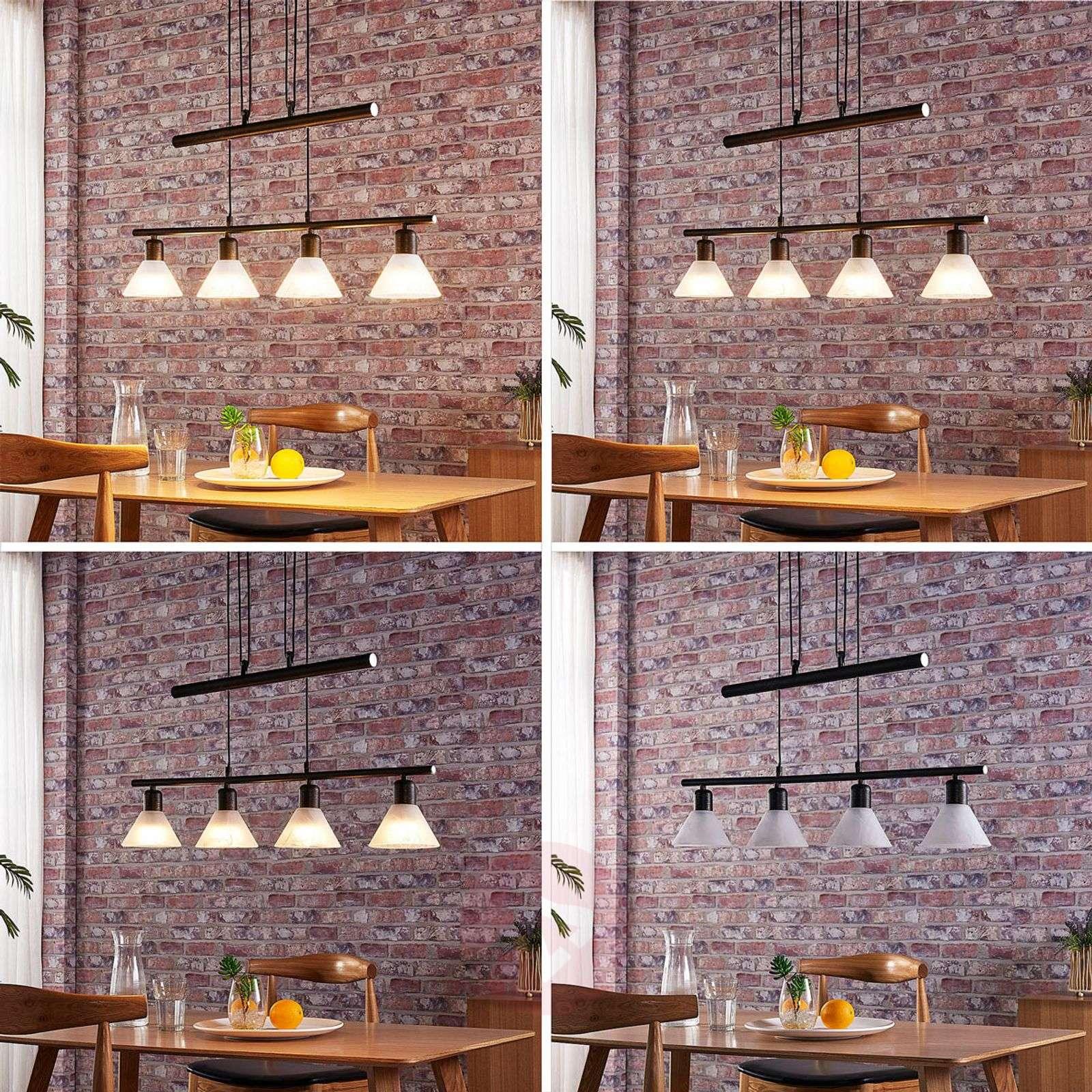 LED-riippuvalaisin Eleasa, easydim, 4-sarja, musta-9621385-02