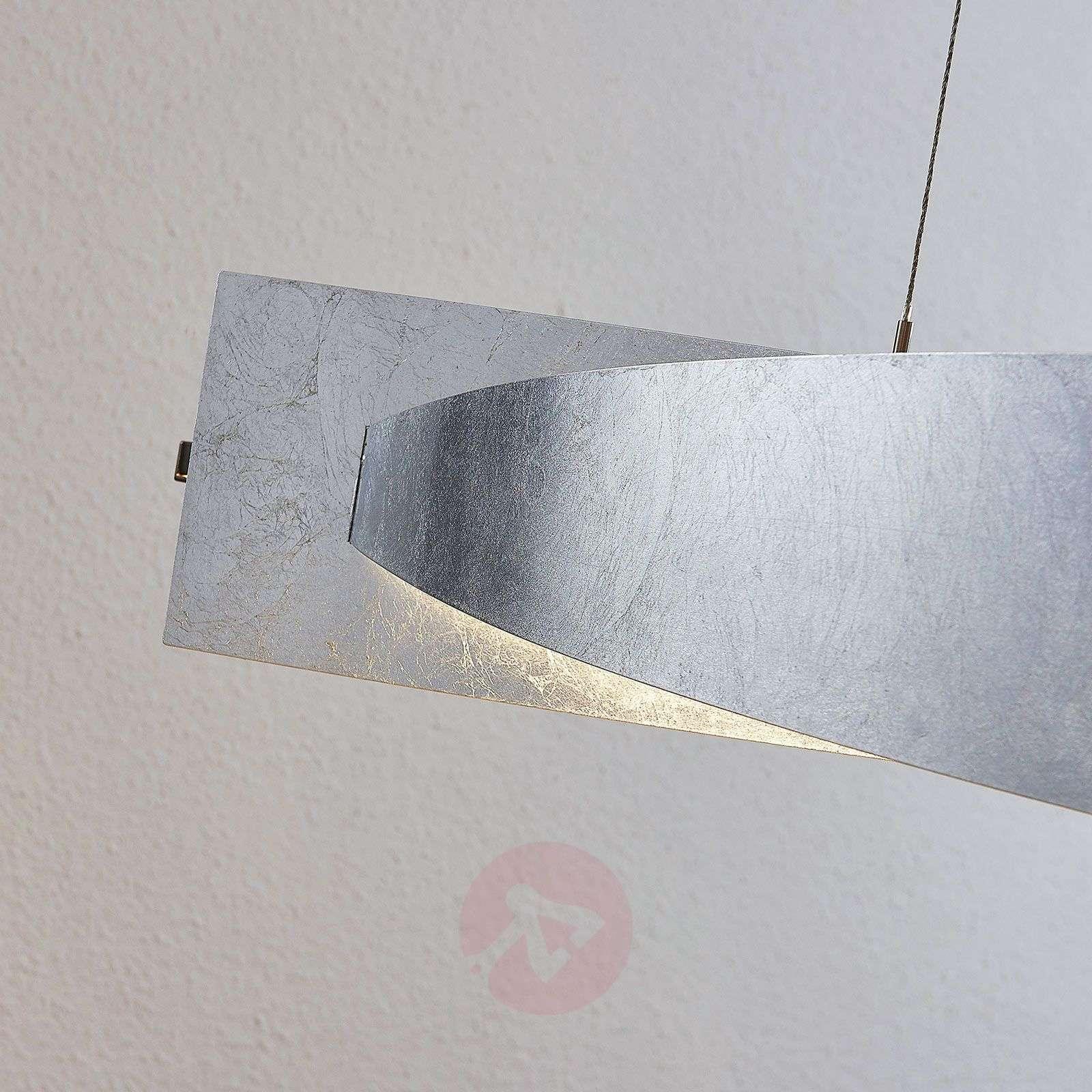 LED-riippuvalaisin Marija, pystysuora, hopea-9639119-01