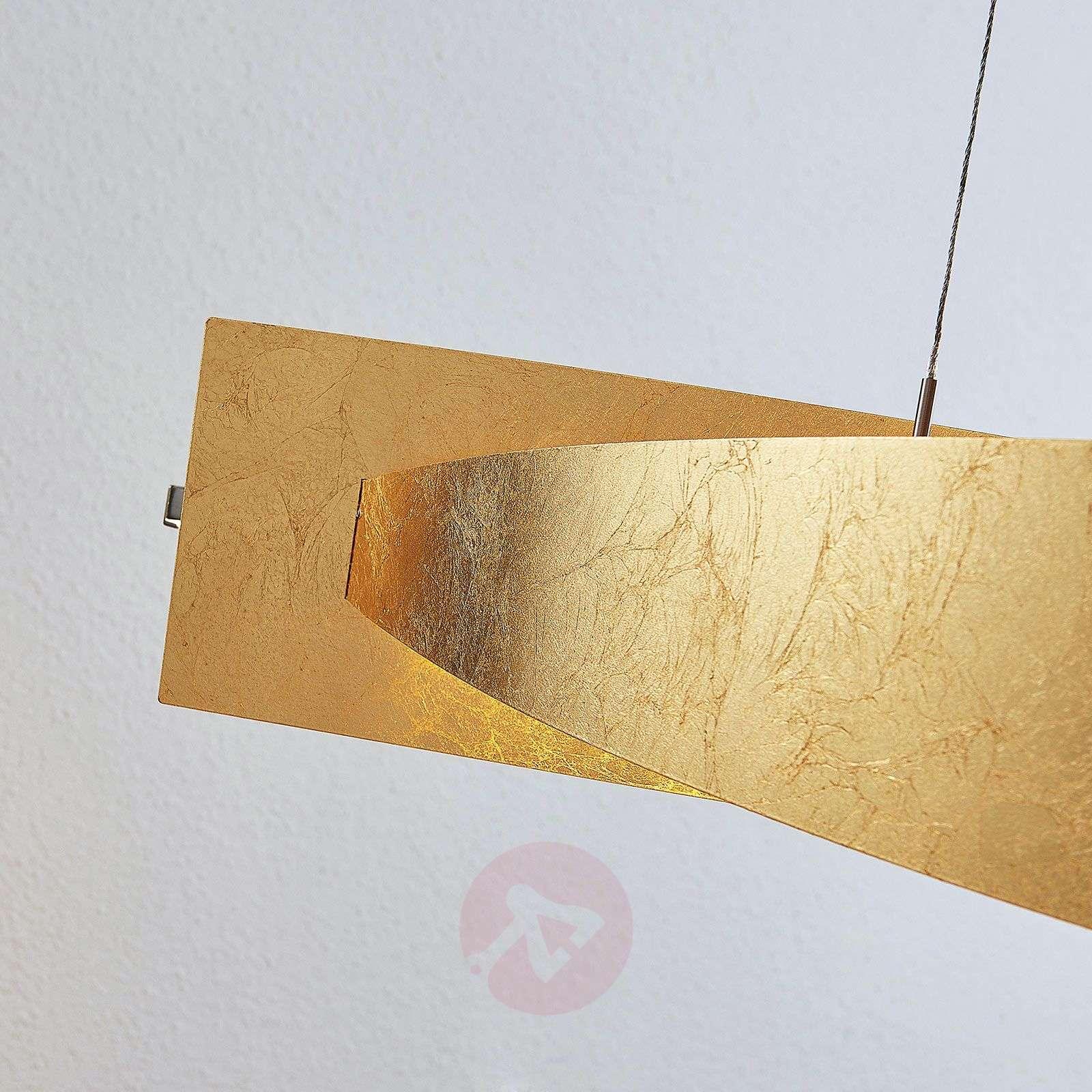LED-riippuvalaisin Marija, pystysuora, kulta-9639114-01