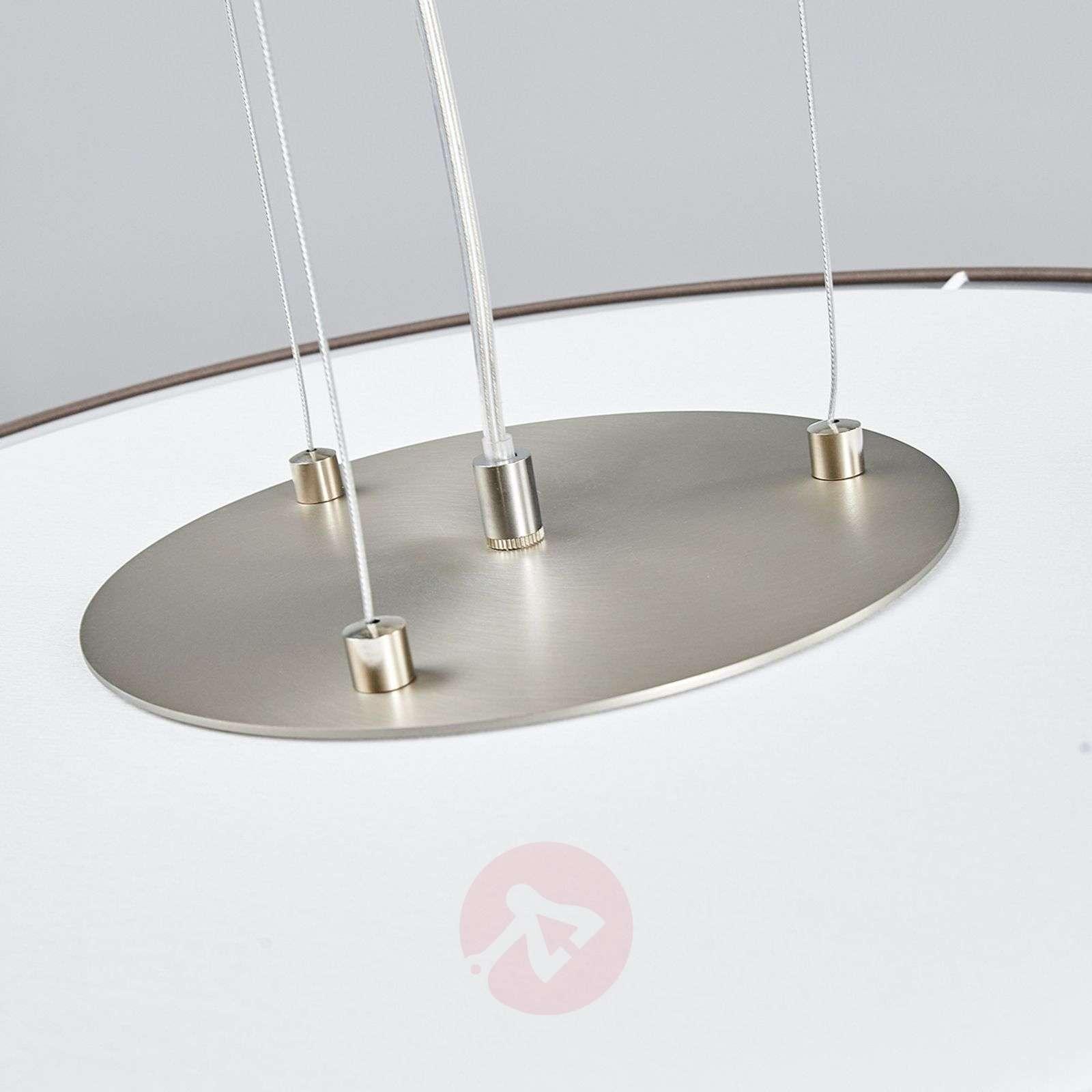 LED-riippuvalo Gala, 50 cm, taupe sintsi-6722453-01