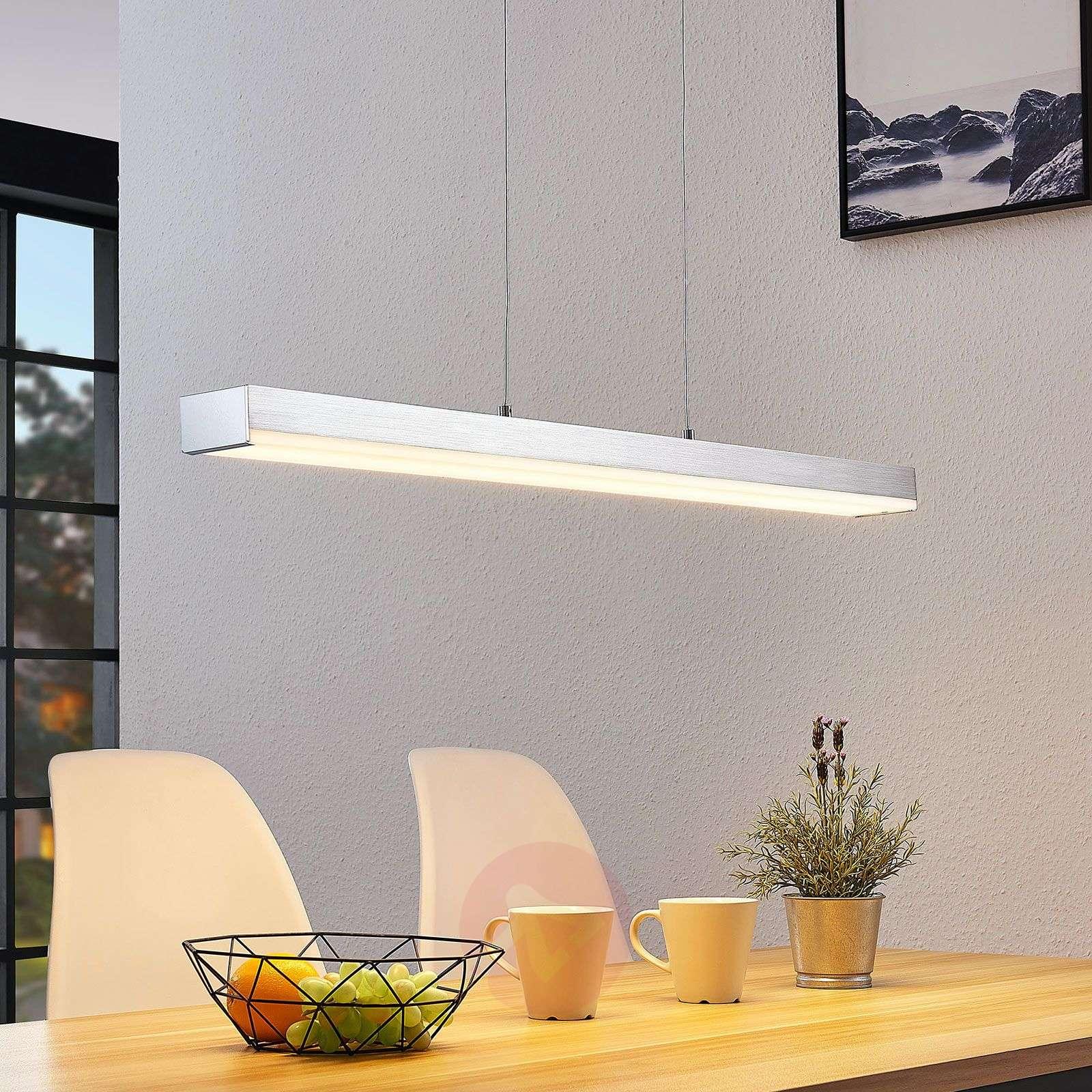 LED-riippuvalo Keyan WiZ kulmikas pitkä nikkeli-8032180-02