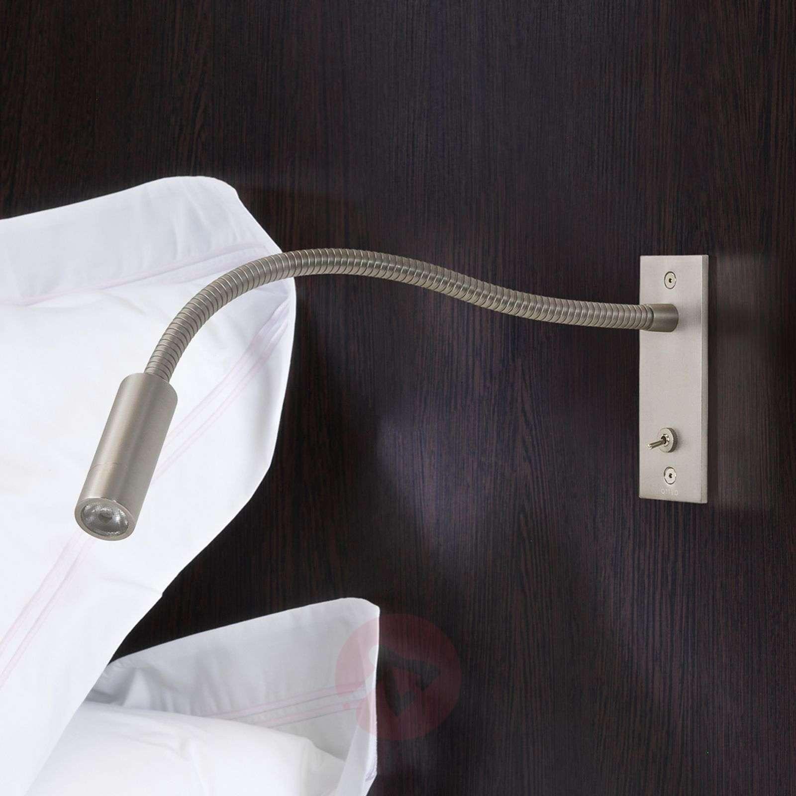 LED-seinäuppovalaisin Leo Switched, joustovarsi-1020590-01