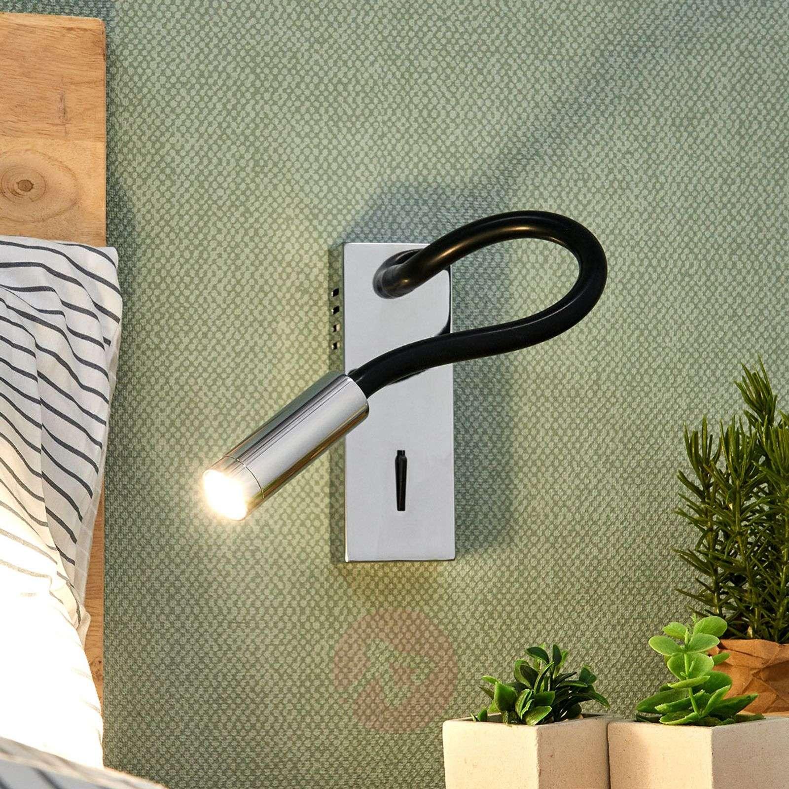 LED-seinävalaisin Bernardo taipuvalla varrella-9976029-02