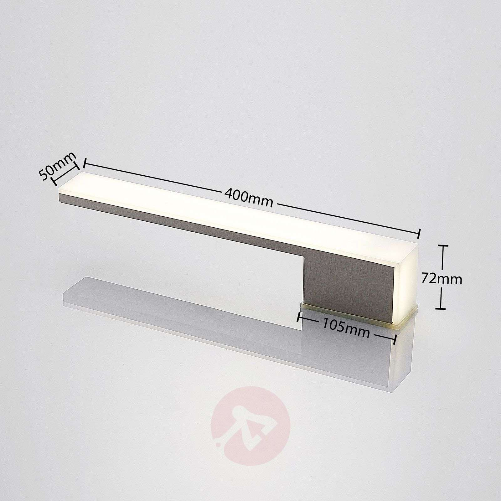 LED-seinävalaisin Eline, IP42, 40 cm-9635001-02
