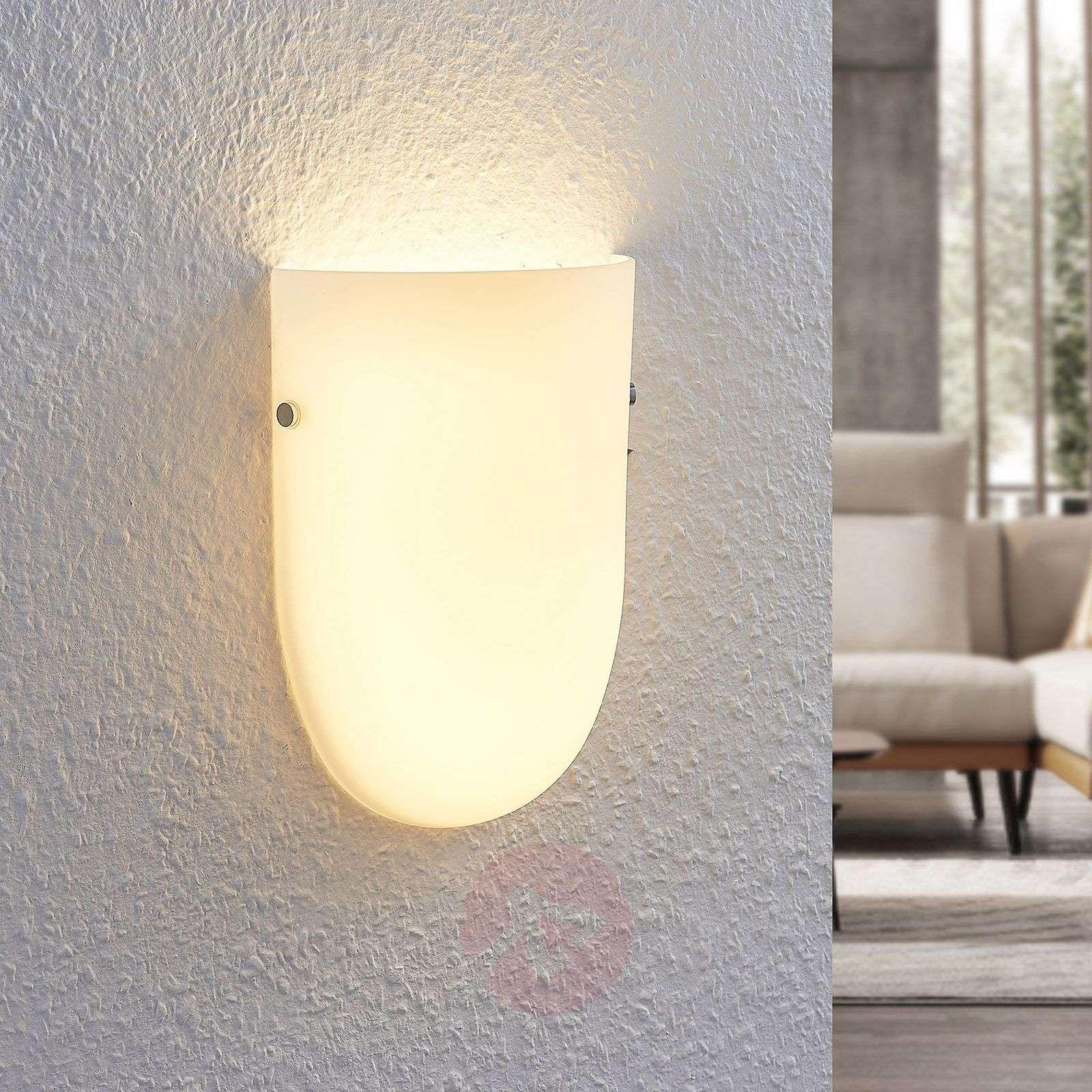 LED-seinävalaisin Genele lasivarjostimella-9976097-02