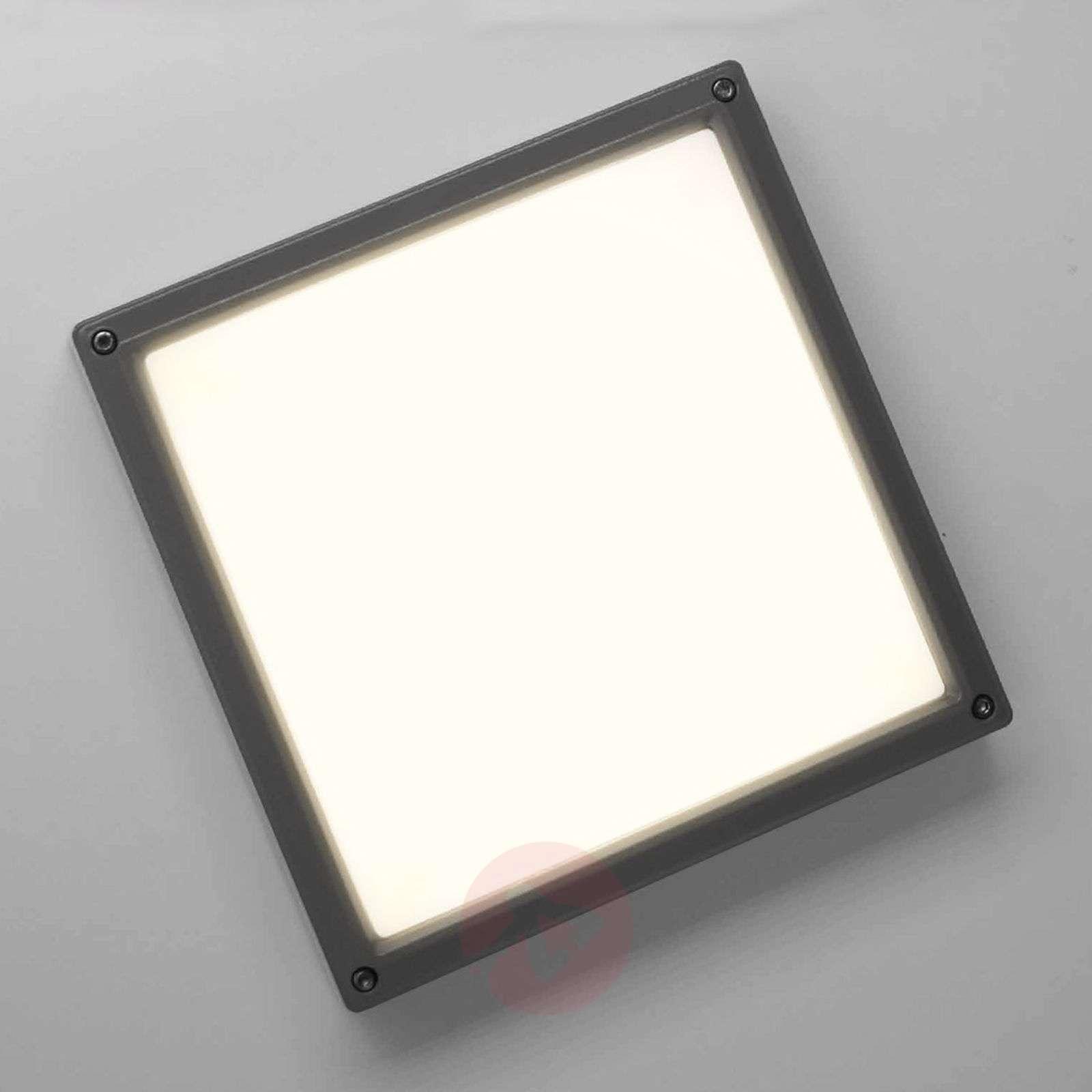 LED-seinävalaisin SUN 11, 13W 3 K, antrasiitti-1018215-01