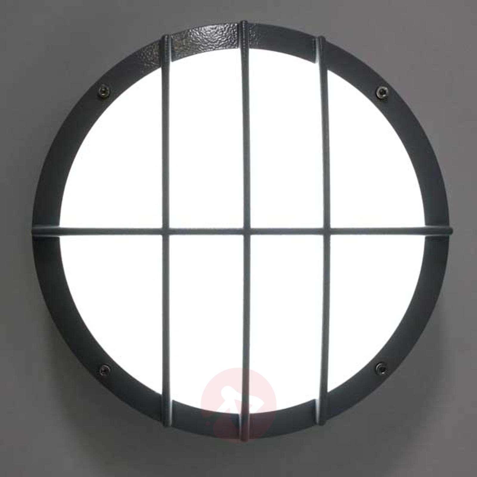 LED-seinävalaisin SUN 8 painevaletusta alumiinista-1018204X-01