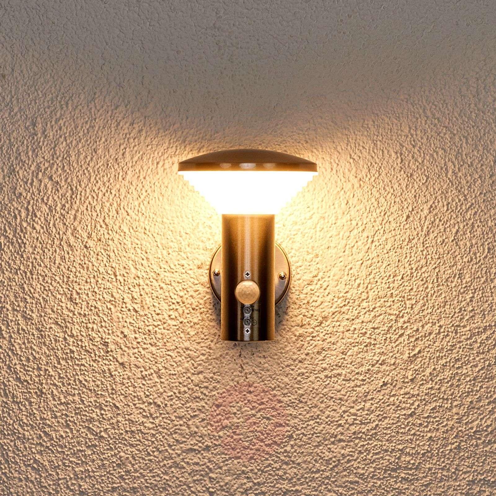LED-seinävalaisin Tiga tunnistimella, ulkokäyttö-9988072-011