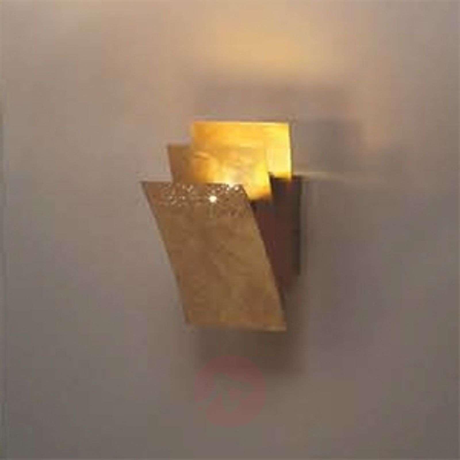 LED-seinävalaisin Virgola, 16 cm korkea-6532053-01