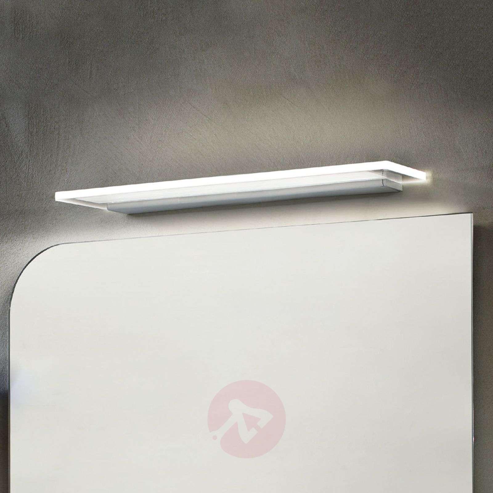 LED-seinävalo Skinny IP44-luokka kiiltävä alumiini-6042306-01