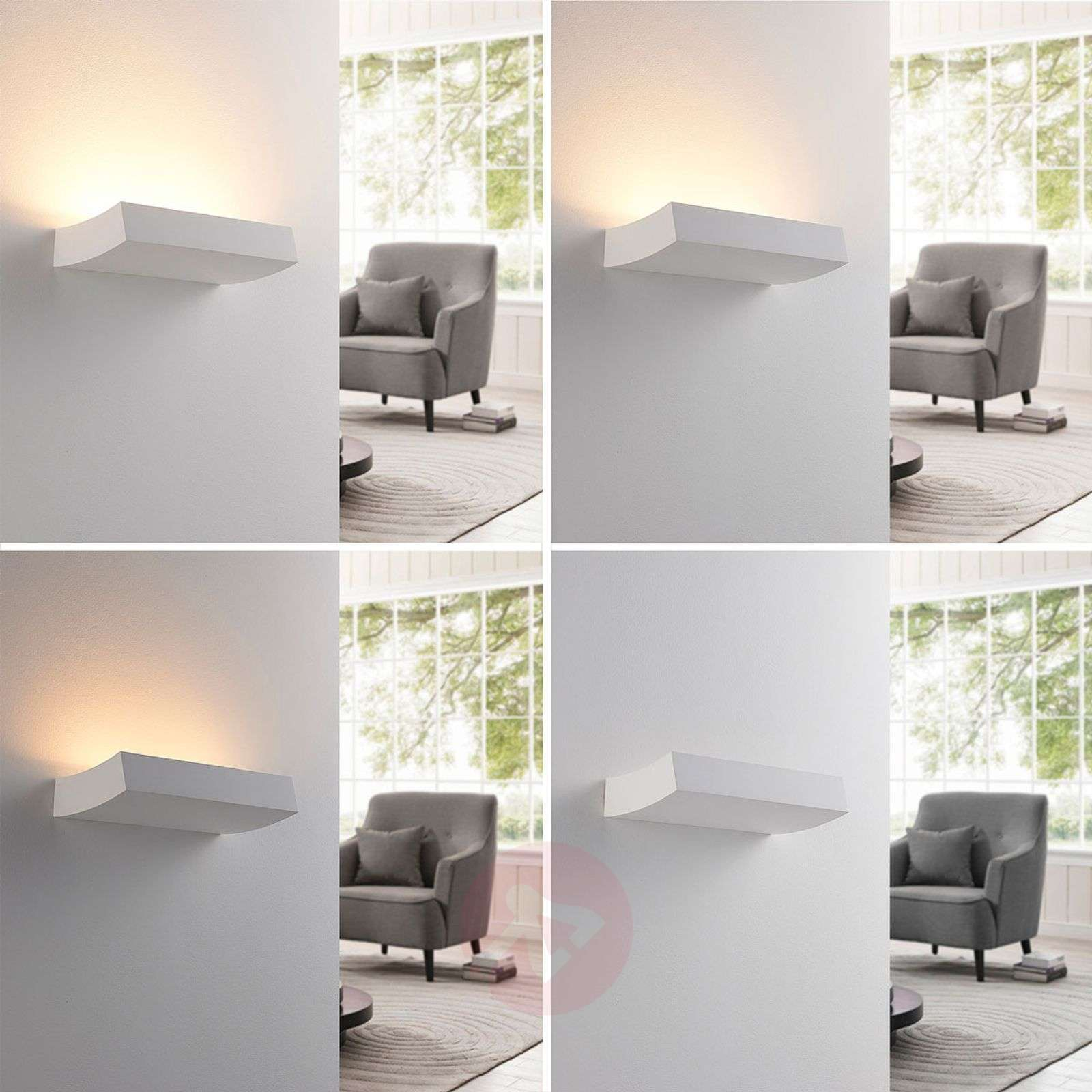 LED-seinävalonheitin Dana kipsiä-9621347-02