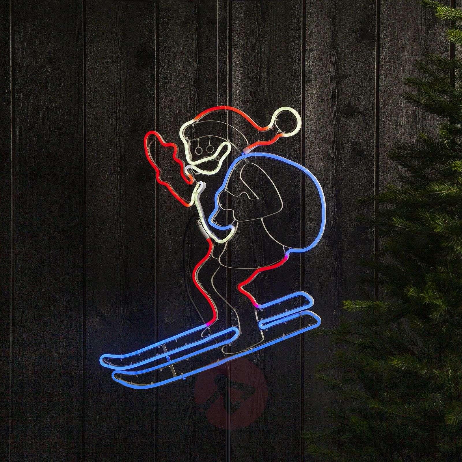 LED-silhuetti NeoLED Santa-1523766-01
