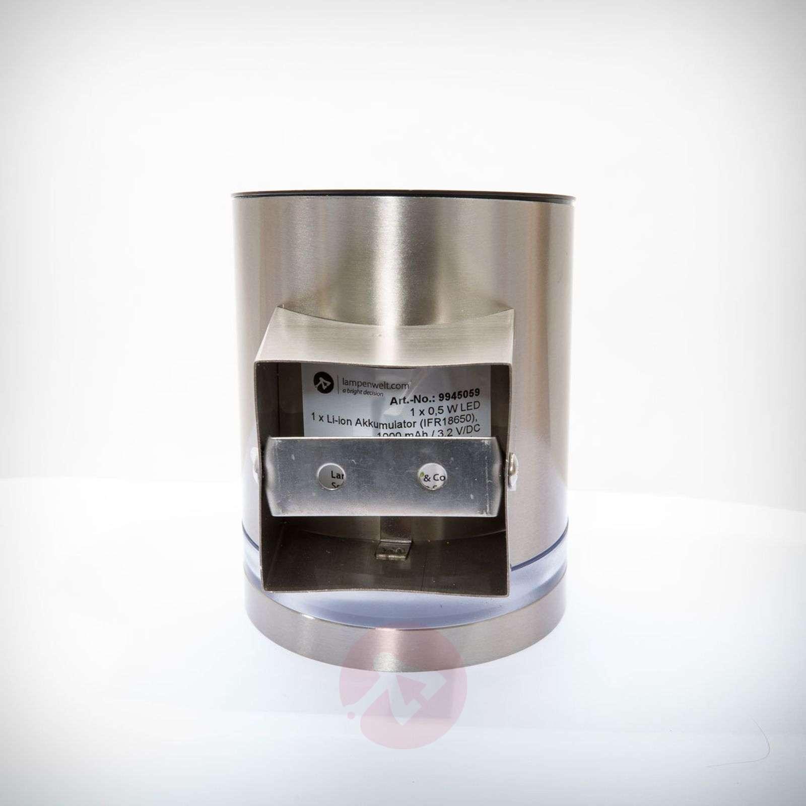 LED-solarvalaisin Salma kiinnitettäväksi seiniin-9945059-02