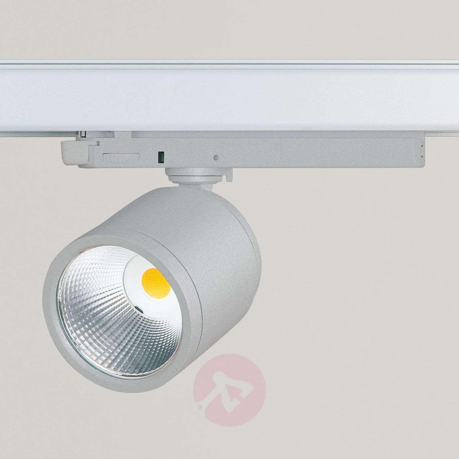 LED-spotti GA 017 Casa, 3-vaihevirtakiskoon, hopea-6523817-01