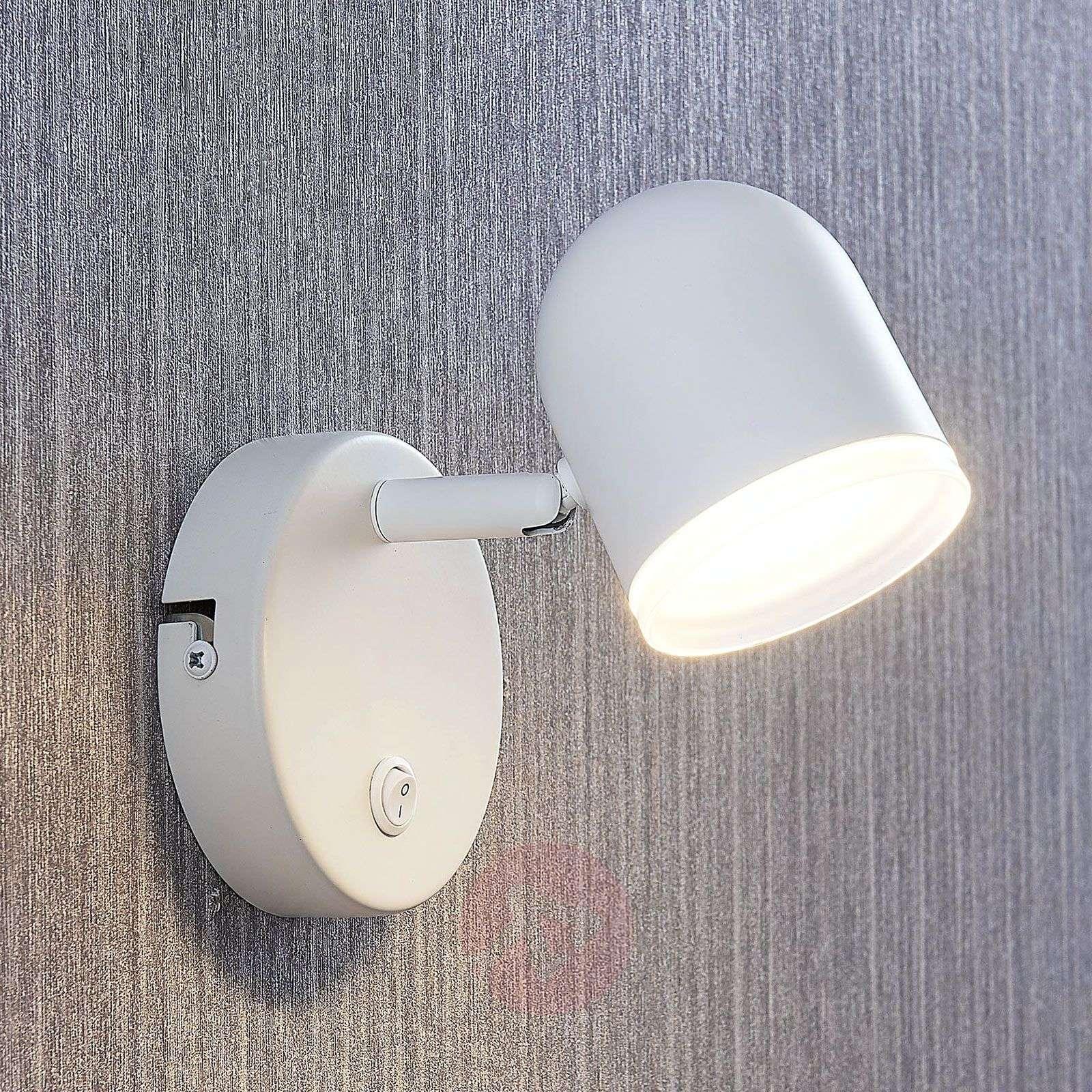 LED-spotti Ilka, kytkin, valkoinen, 1-lamppuinen-9643084-03