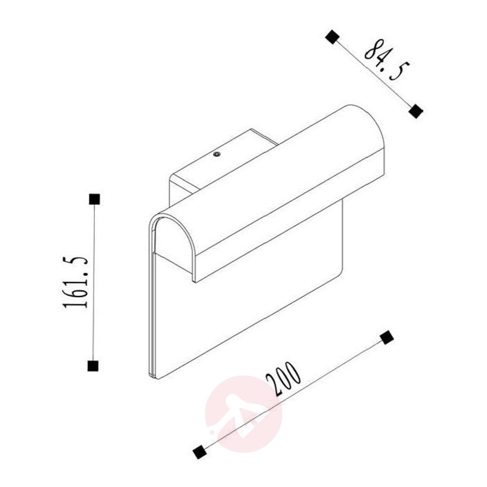 LED-talonnumerovalaisin Thesi, musta-6055141-01