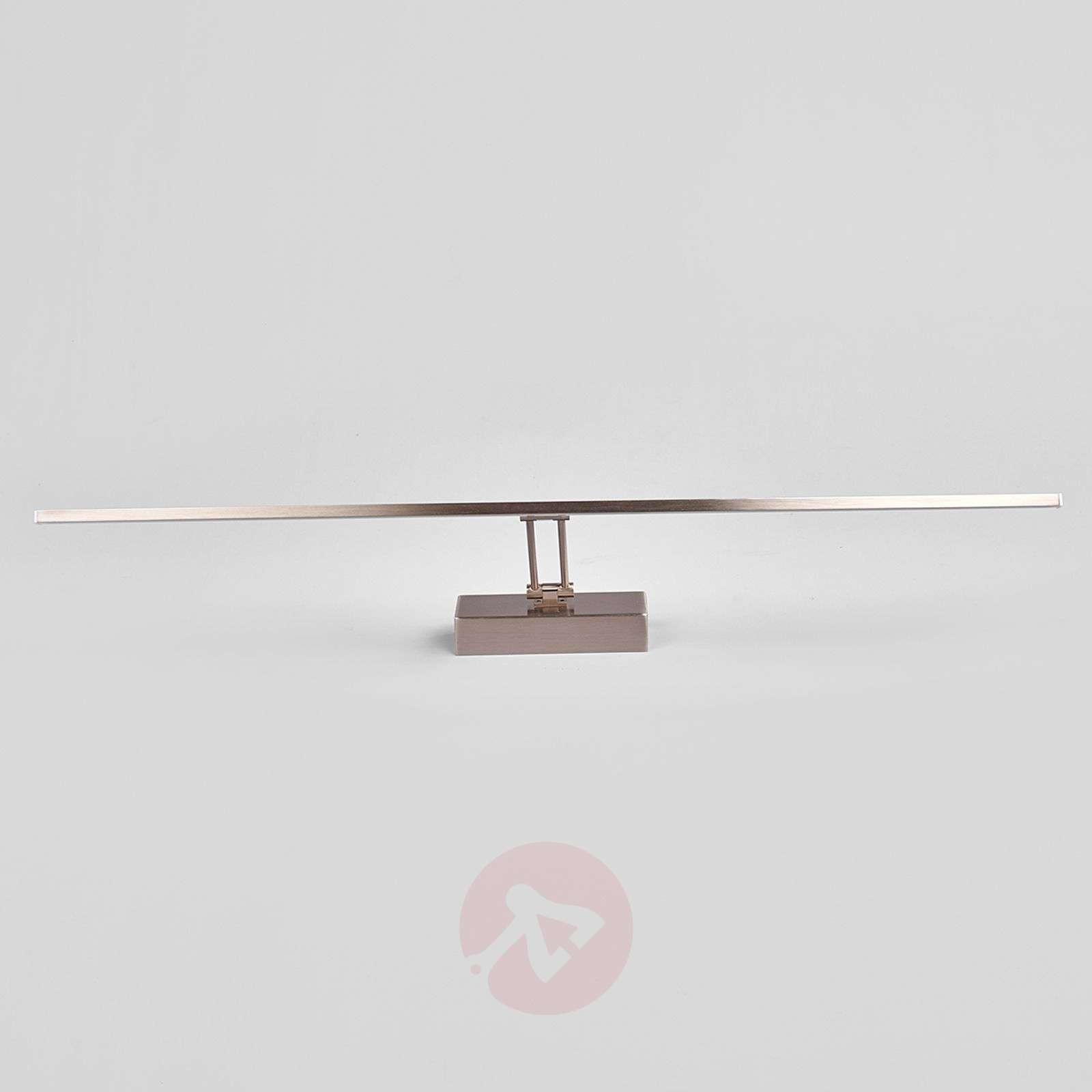 LED-tauluvalaisin Emilias, matta nikkeli, 83,4 cm-9644083-01