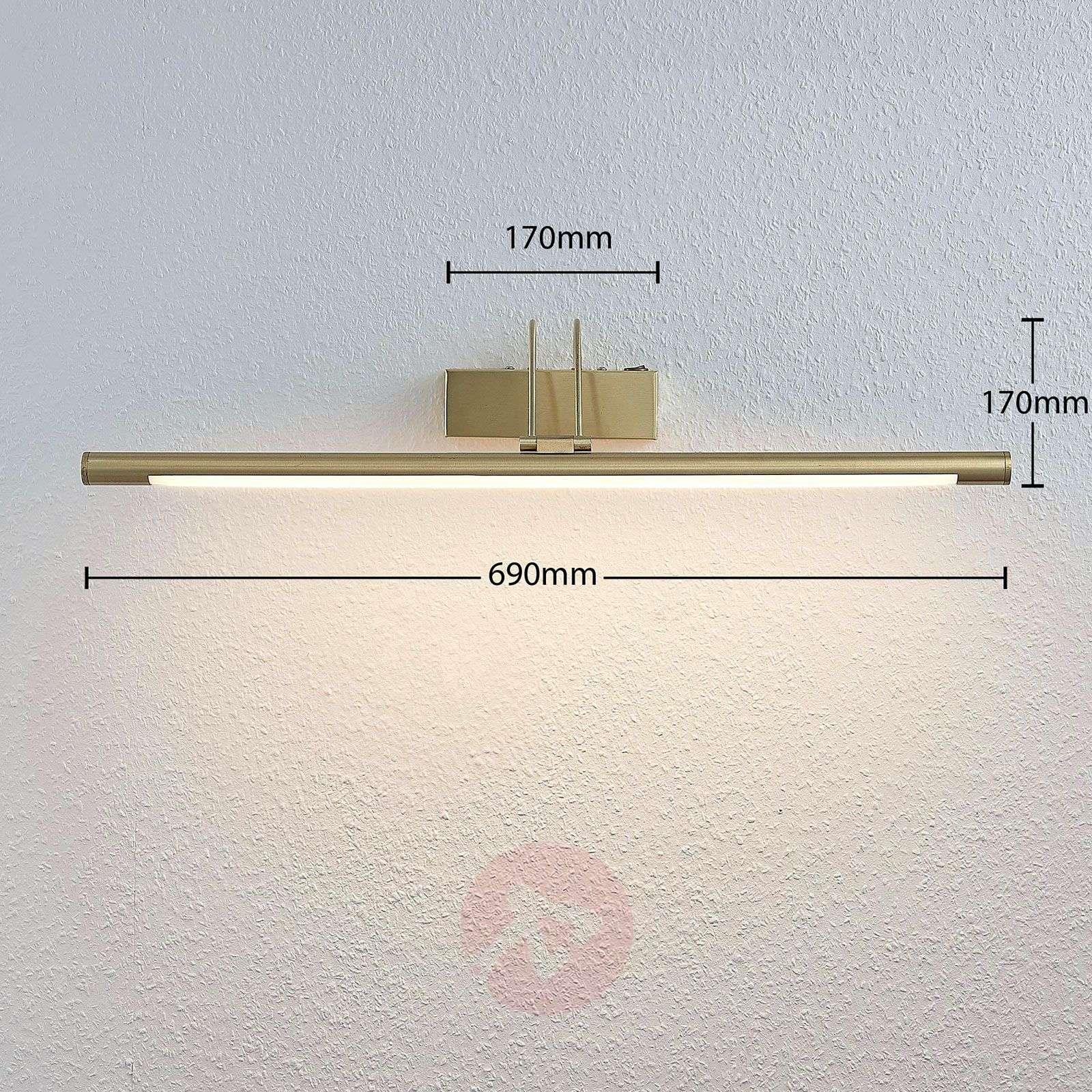 LED-tauluvalaisin Mailine kytkimellä, messinki-9624436-02