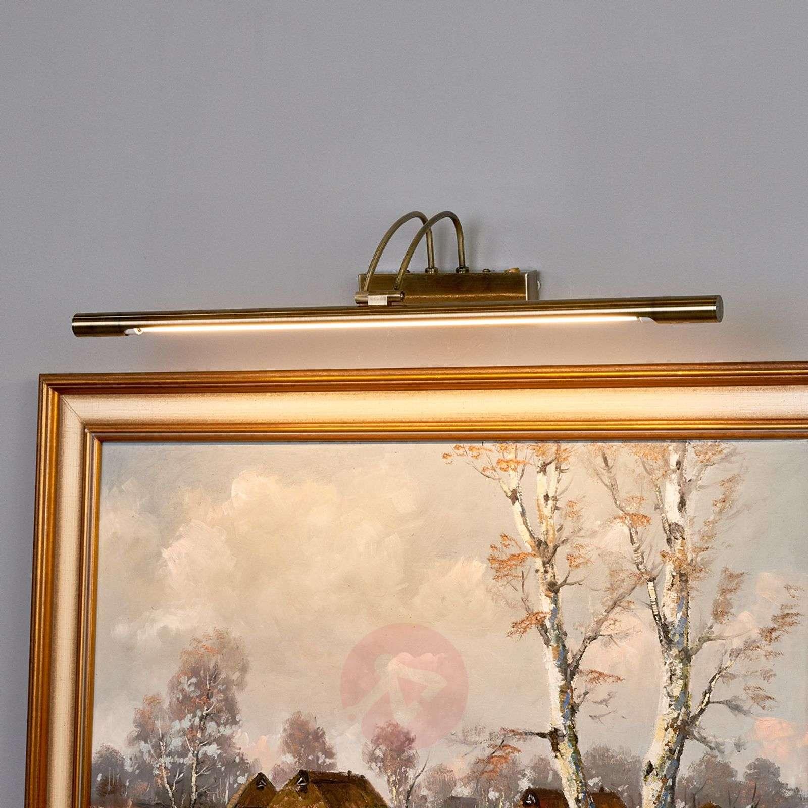 LED-tauluvalaisin Piktura, vanha messinki-8570214-02