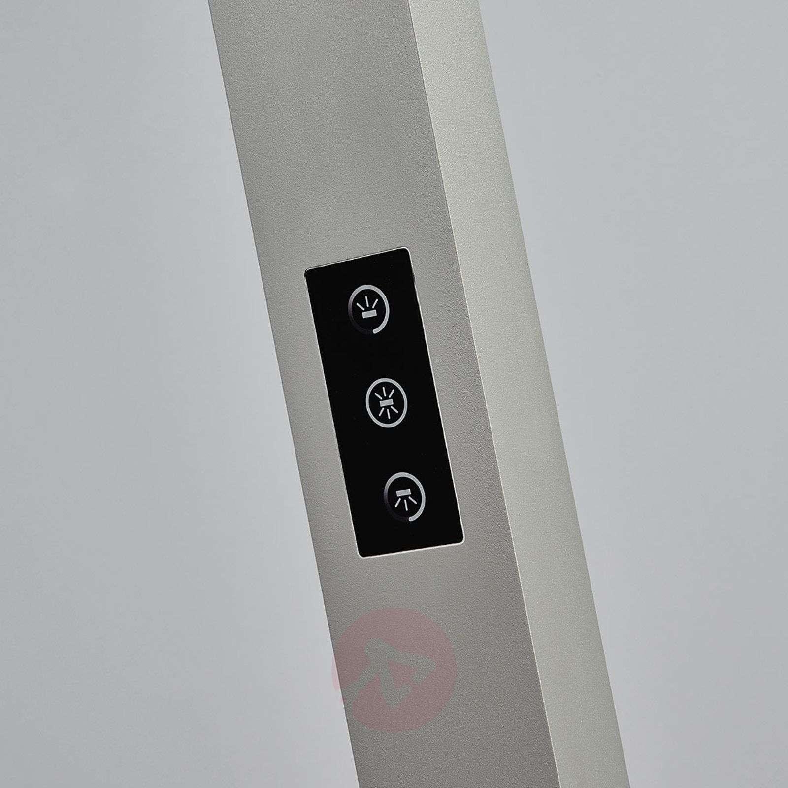 LED-toimistolattiavalaisin Jolinda himmen., hopea-9968020-014