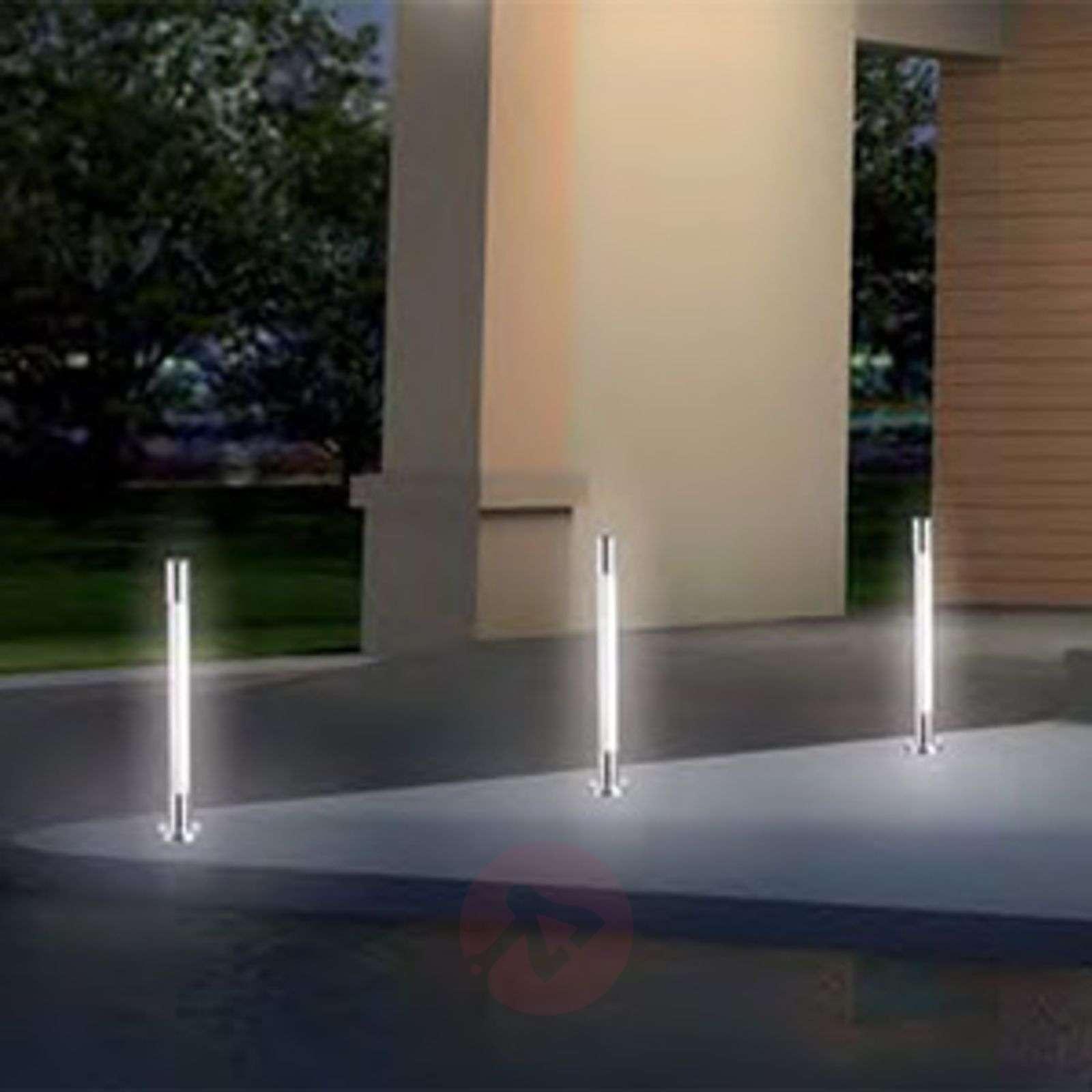 LED-tolppavalaisin Salerno-Set S, 3 kpl:n setti-7518029-02