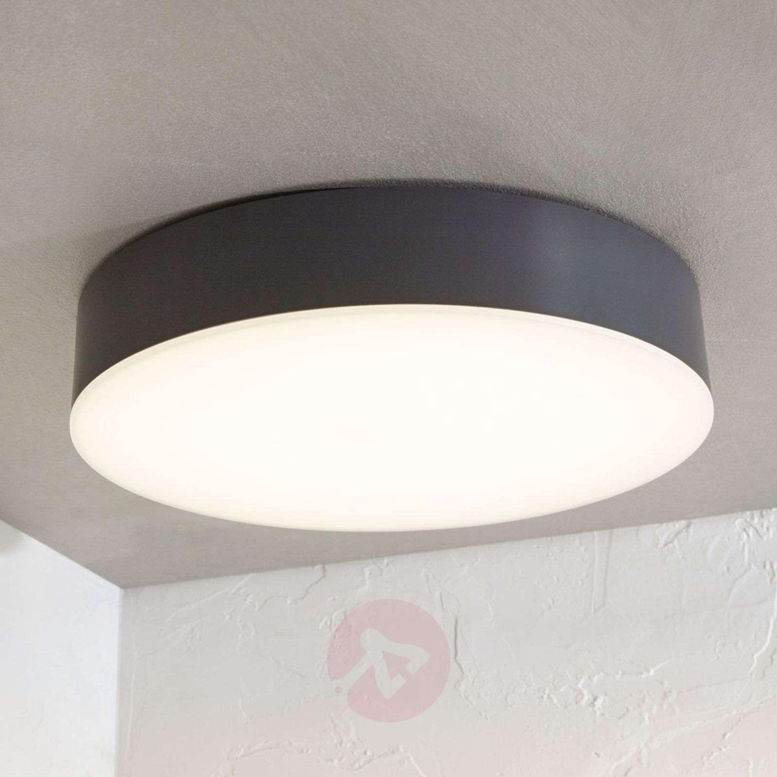 LED-ulkokattovalaisin Lahja, IP65, tummanharmaa-9949016-01