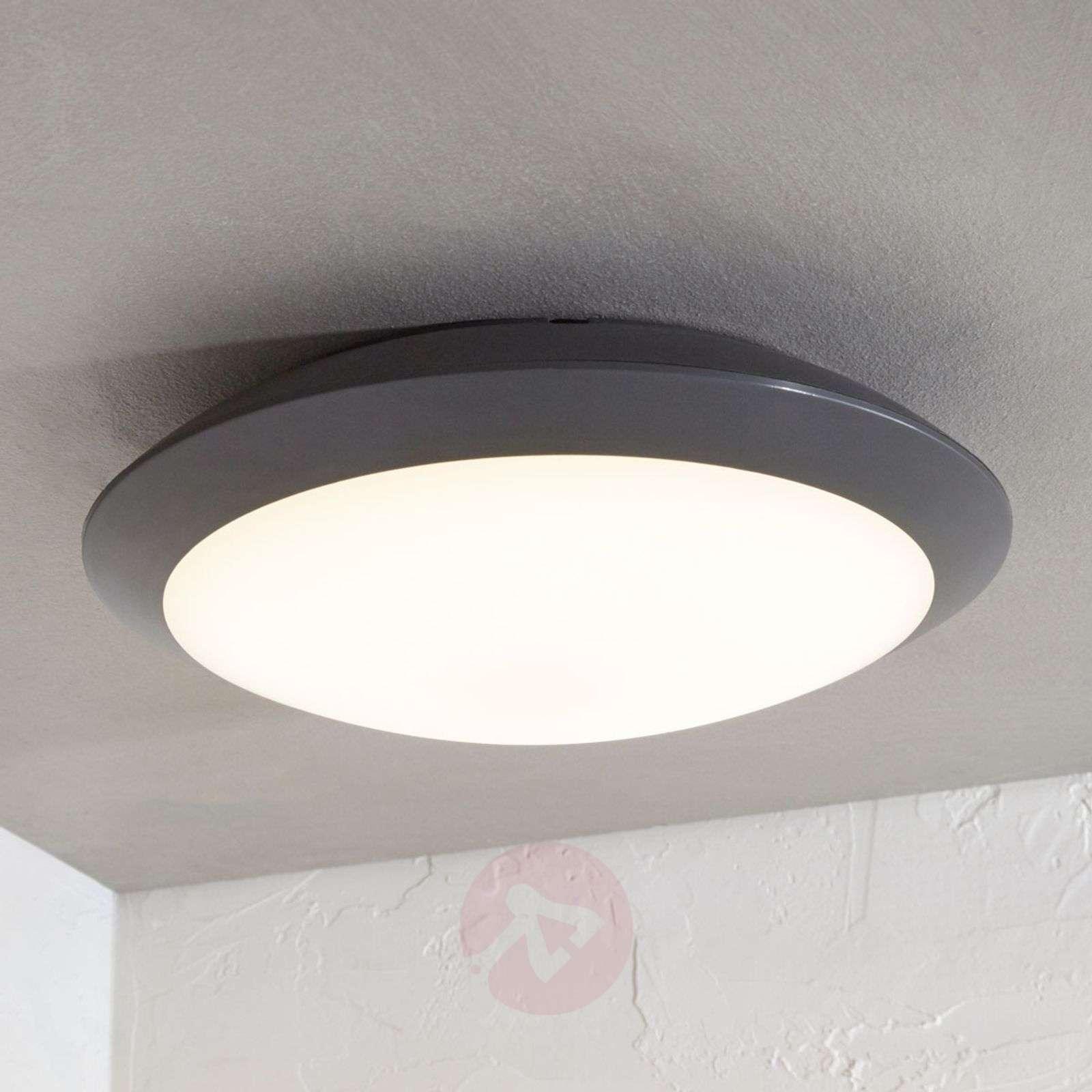 LED-ulkokattovalaisin Naira, harmaa, anturi-9949020-01