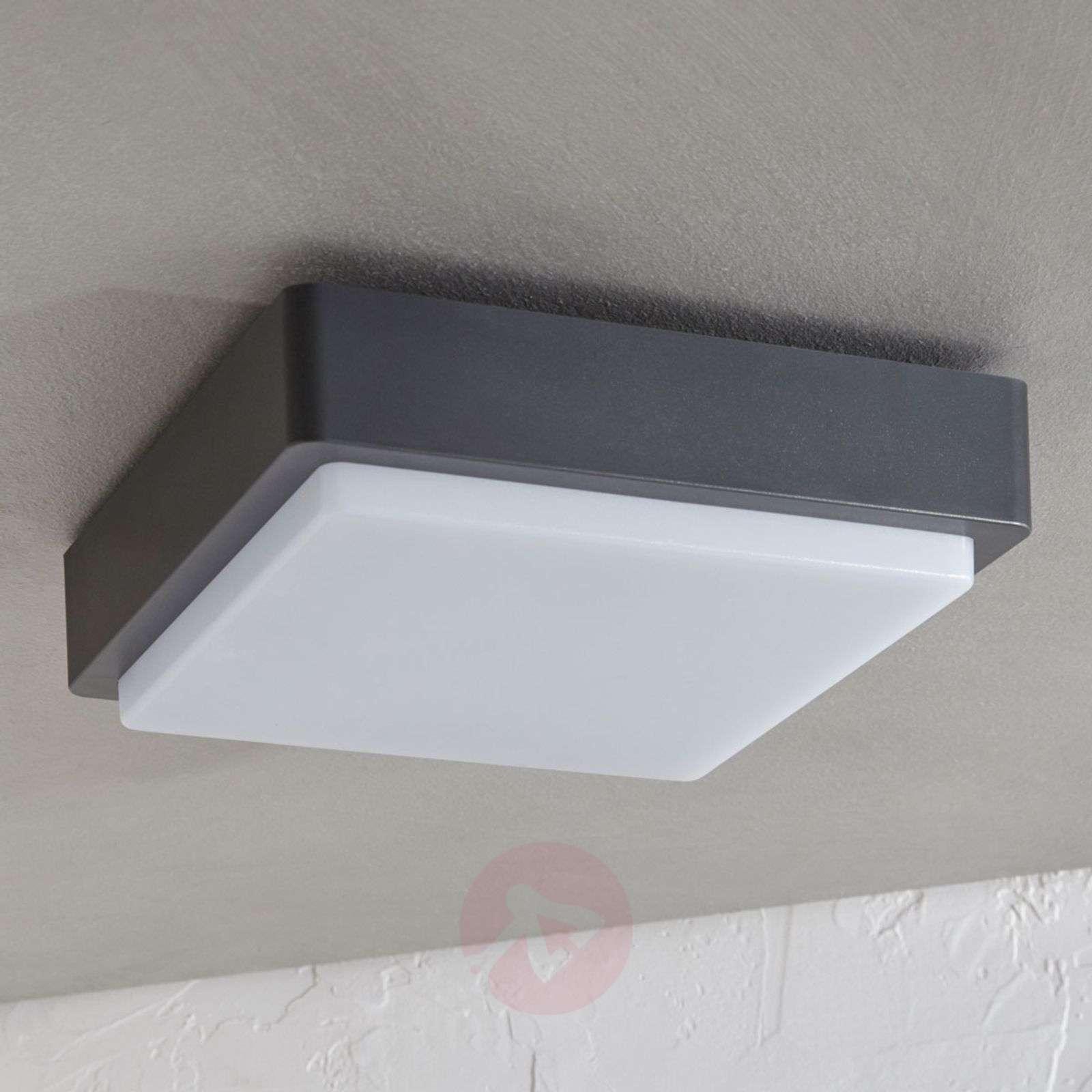 LED-ulkokattovalaisin Nermin, IP65, kulmikas-9949012-01