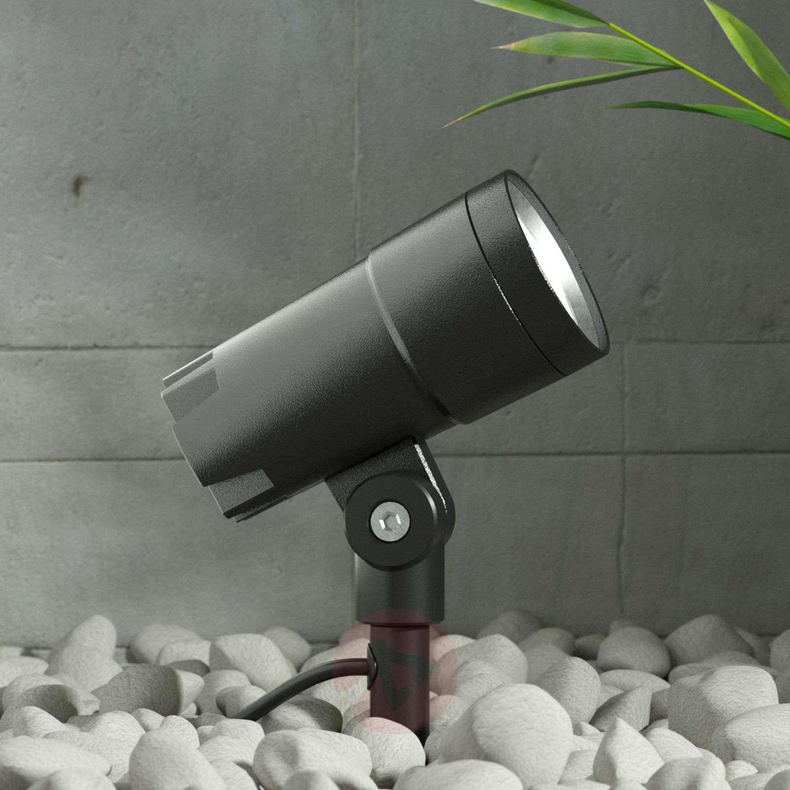 LED-ulkokohdevalaisin Daja, tummanharmaa, IP65-9969080-02