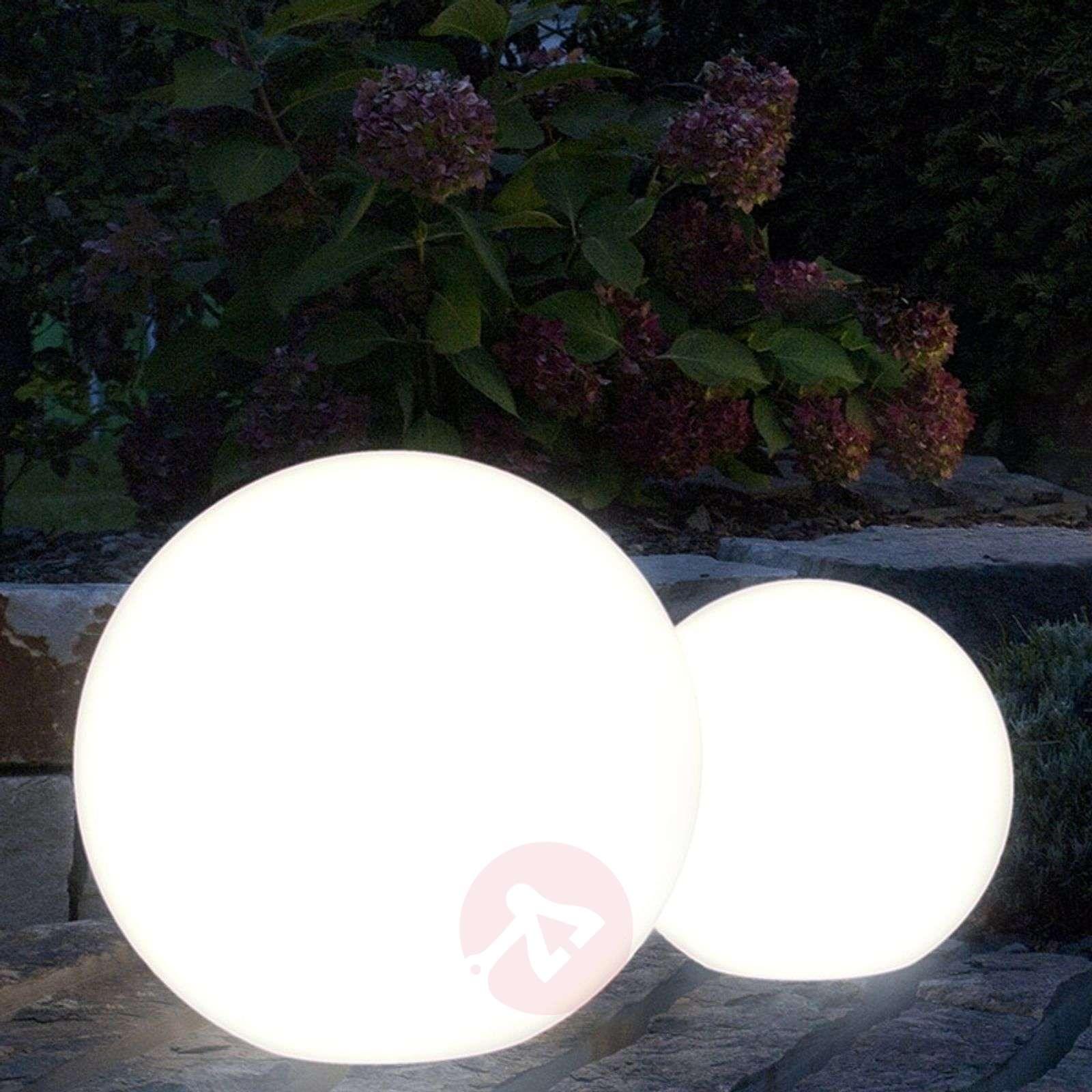 LED-ulkokoristevalaisin Shining Globe 30cm-1004089-01