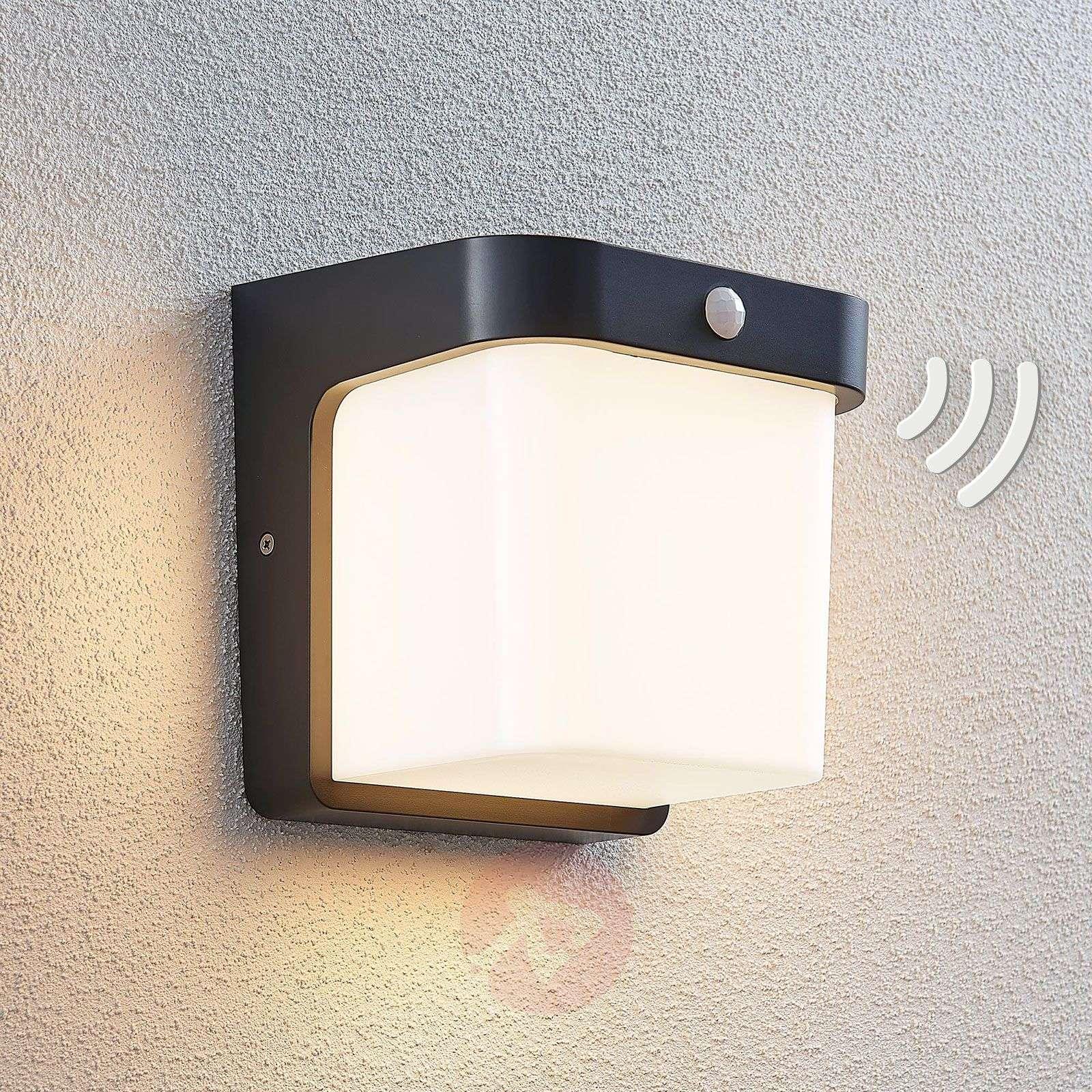LED-ulkoseinälamppu Adenike anturilla-9949049-01