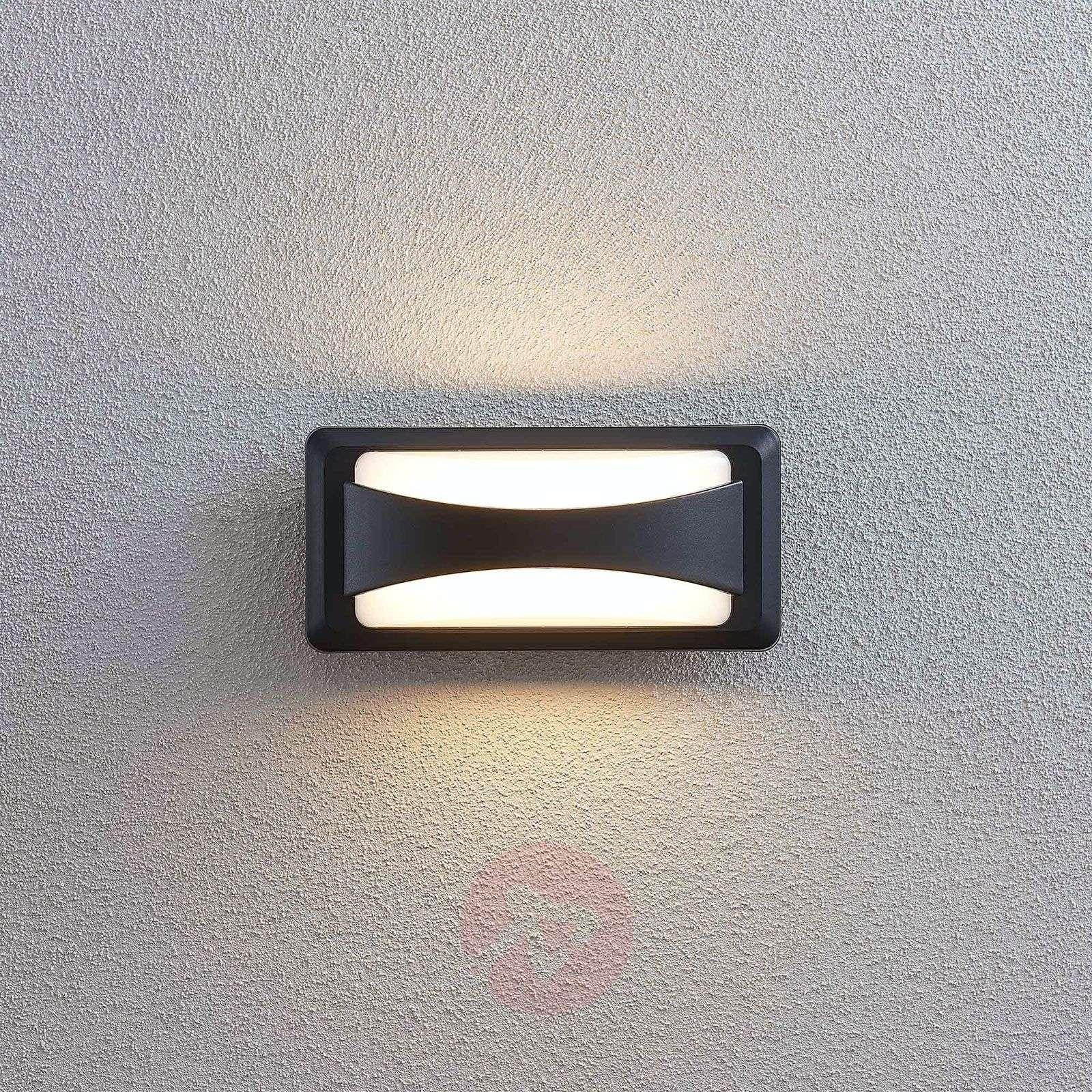 LED-ulkoseinälamppu Iskia, kapea raita-9949004-01