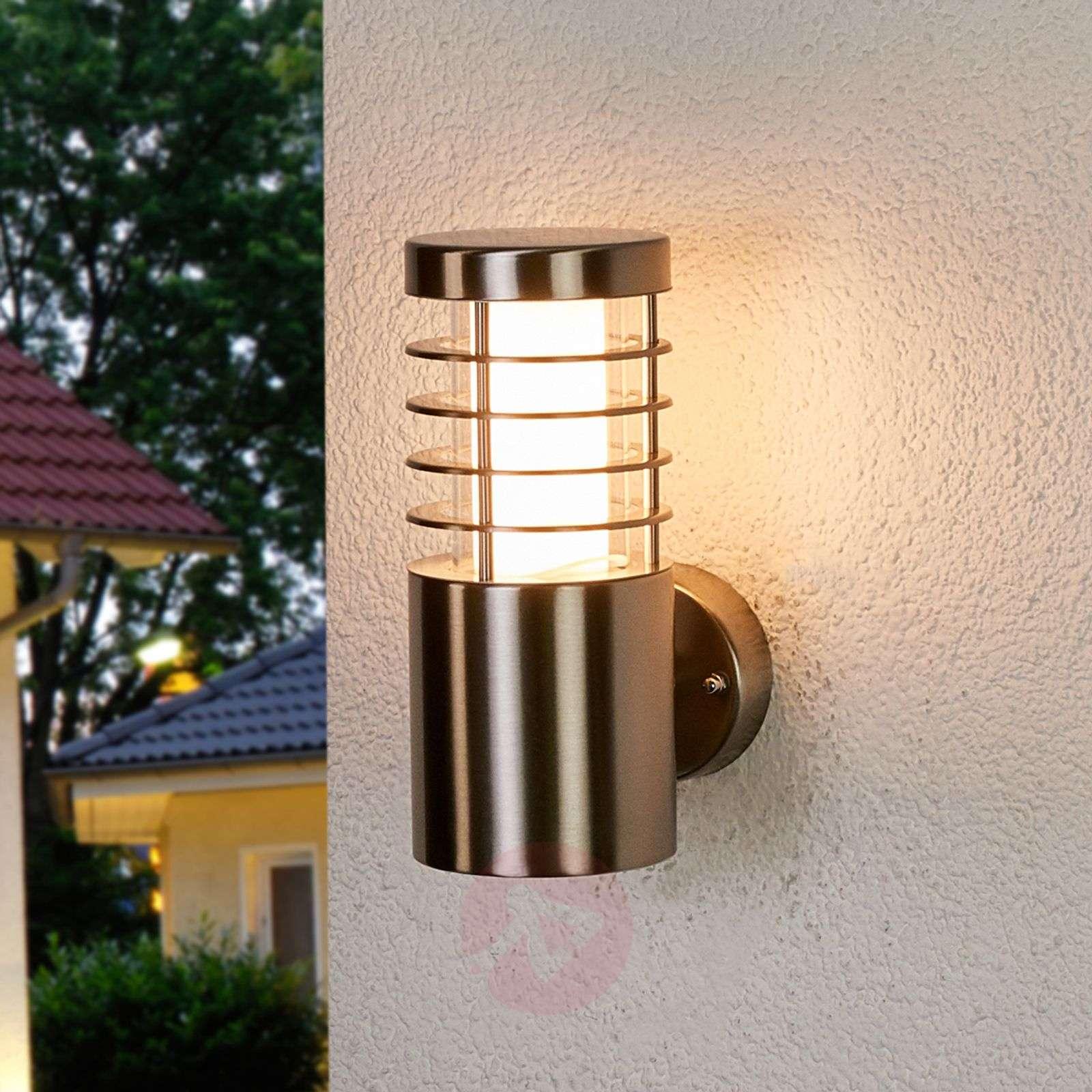 LED-ulkoseinävalaisin Dila ruostumatonta terästä-9945015-03