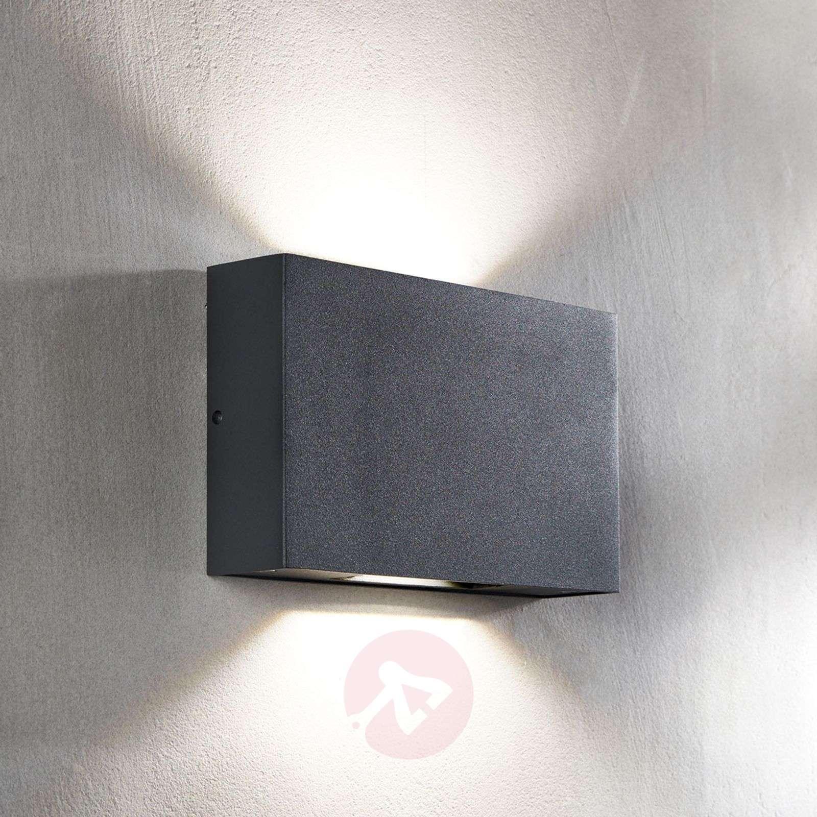 LED-ulkoseinävalaisin Isalie, tummanharmaa-9969087-02