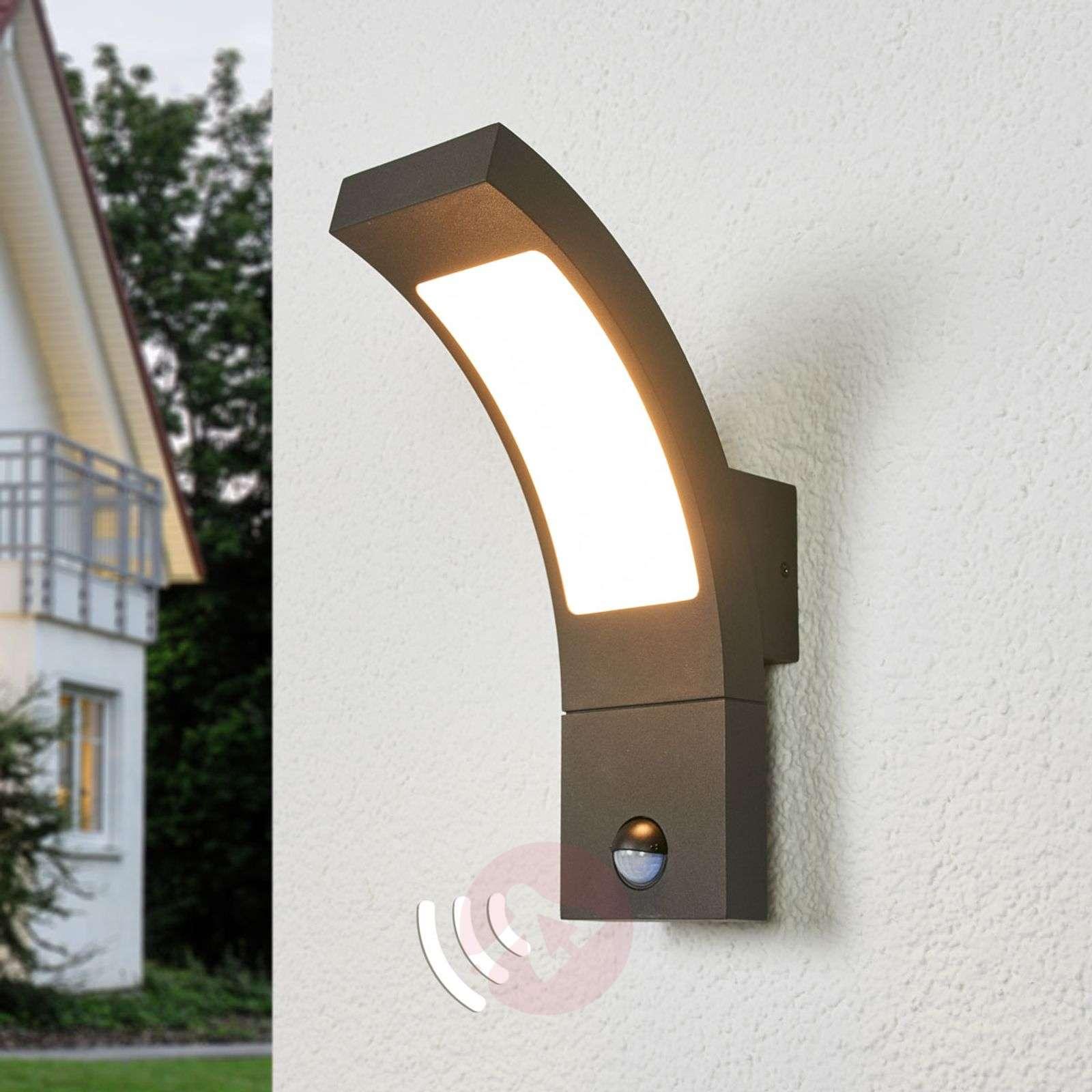 LED-ulkoseinävalaisin Juvia sensorilla-9619127-09