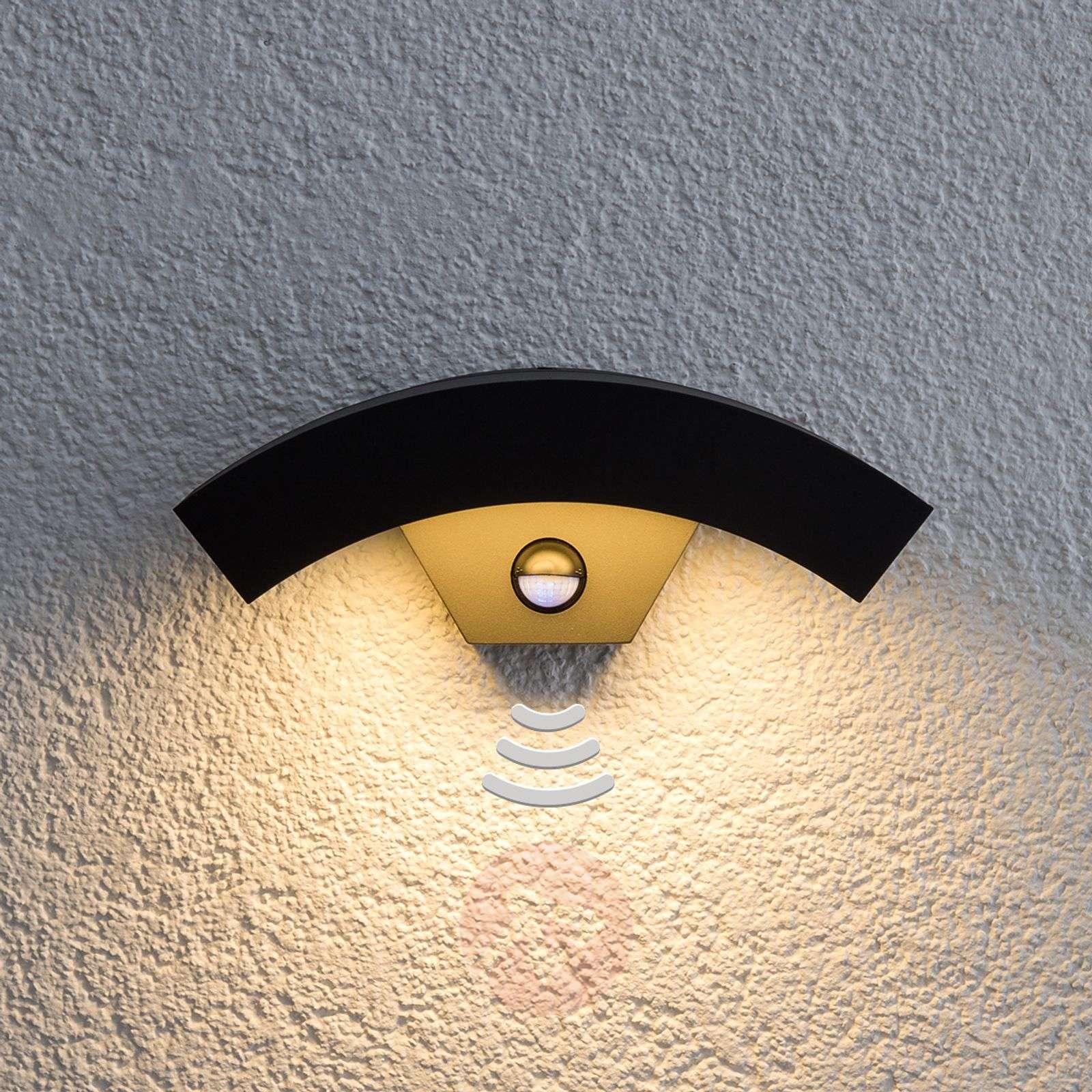 LED-ulkoseinävalaisin Lennik liiketunnistimella-9619035-02