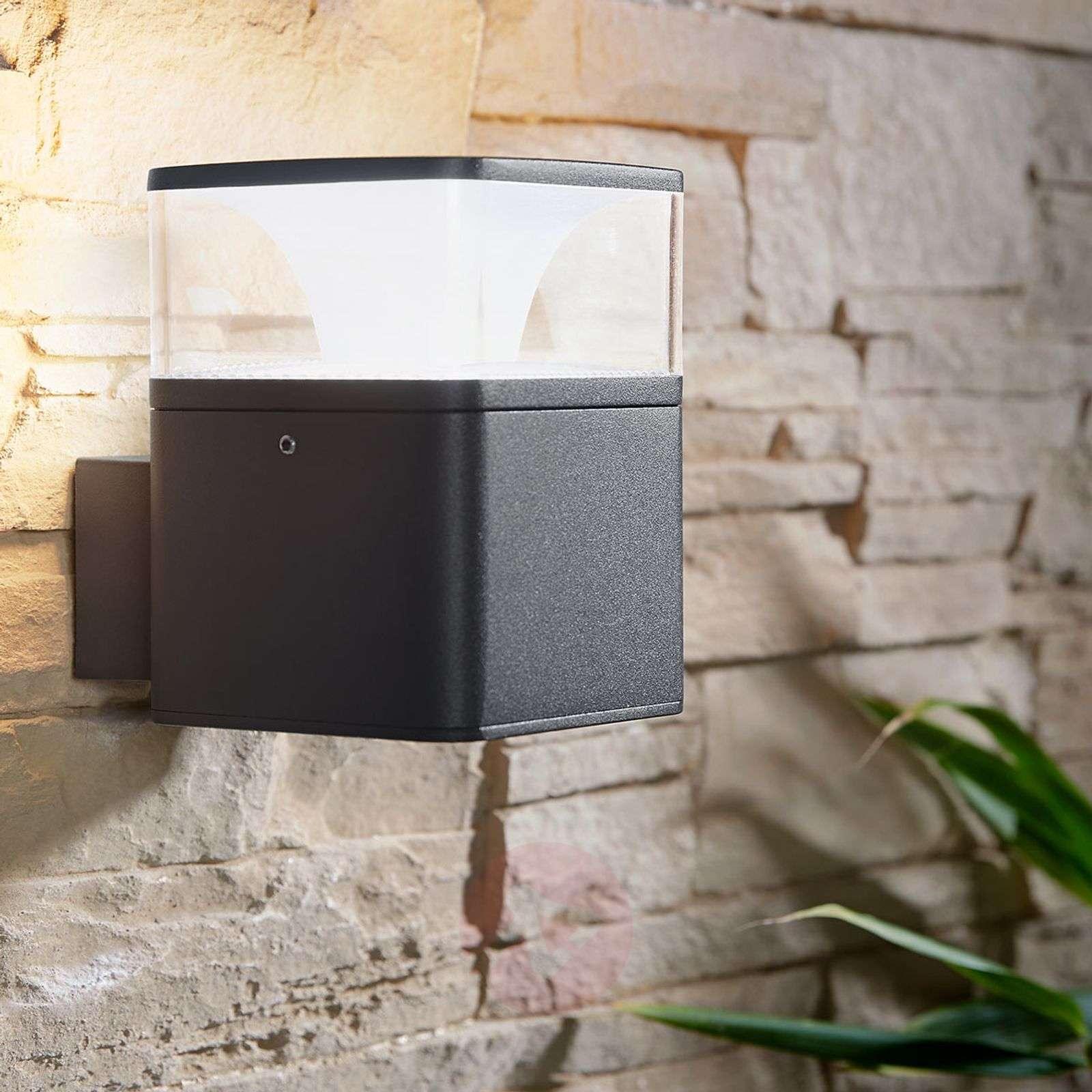 LED-ulkoseinävalaisin Lidia alumiinista-9618134-02