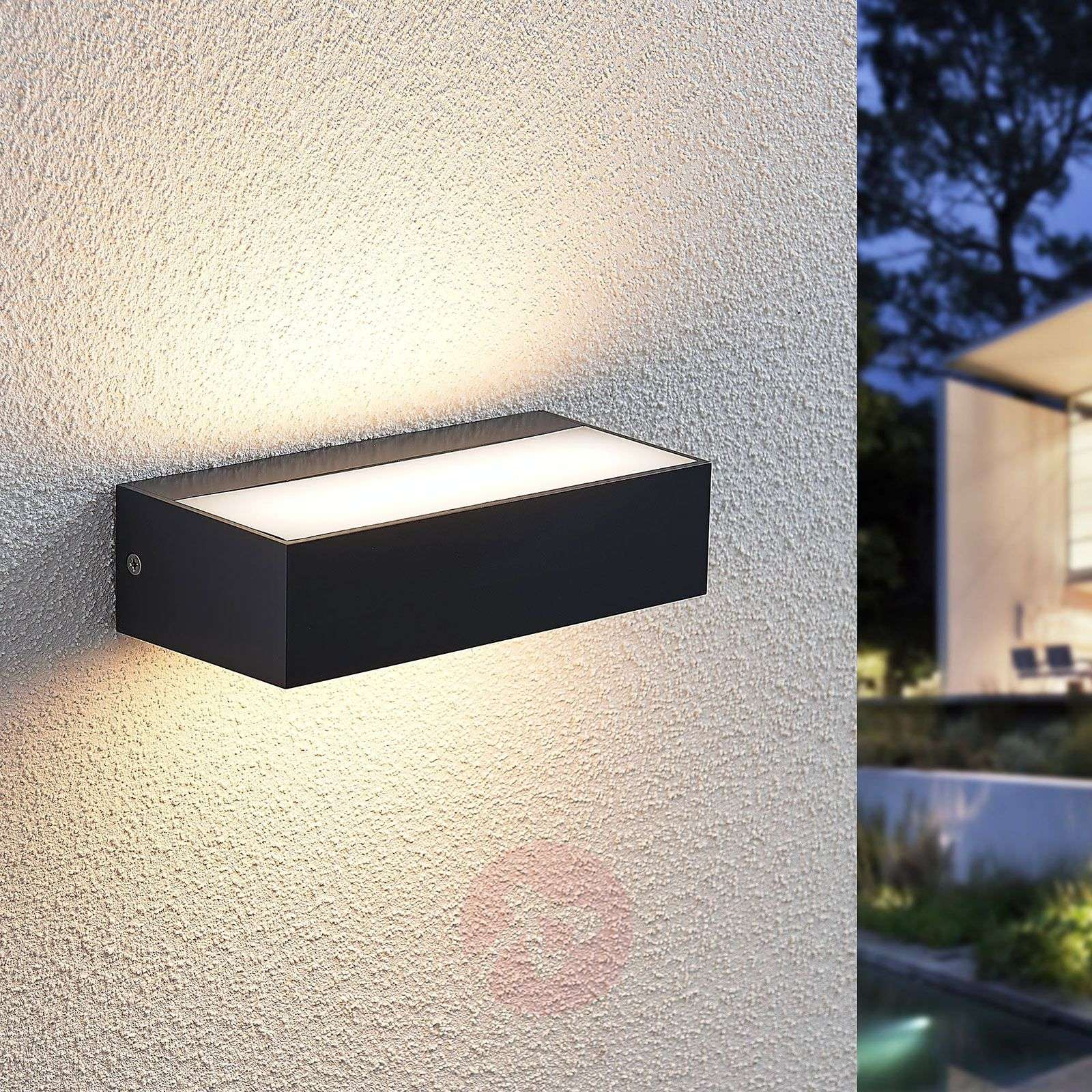 LED-ulkoseinävalaisin Nienke, IP65, 17 cm-9949001-01