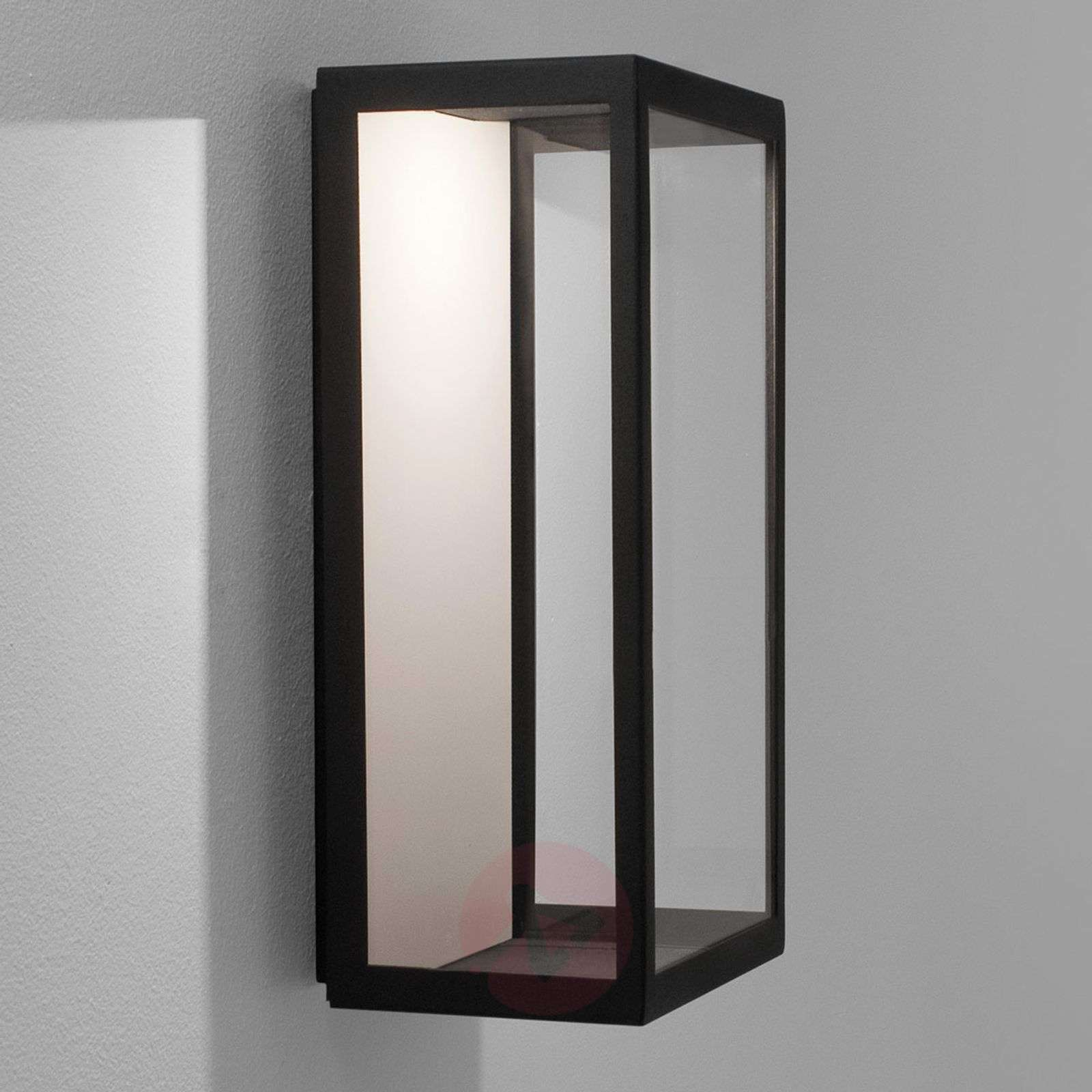 LED-ulkoseinävalaisin Puzzle musta-1020528-02