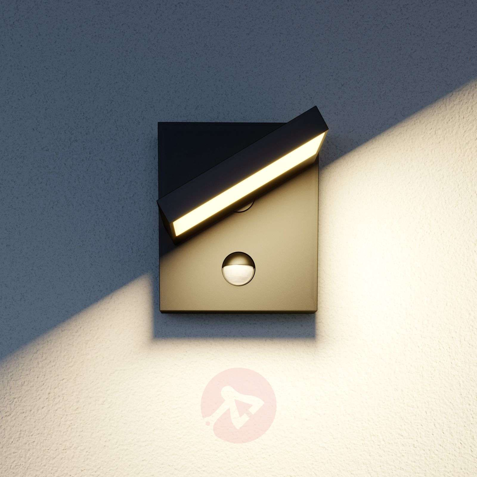 LED-ulkoseinävalaisin, Silvan, liikkeentunnistin-9619174-02