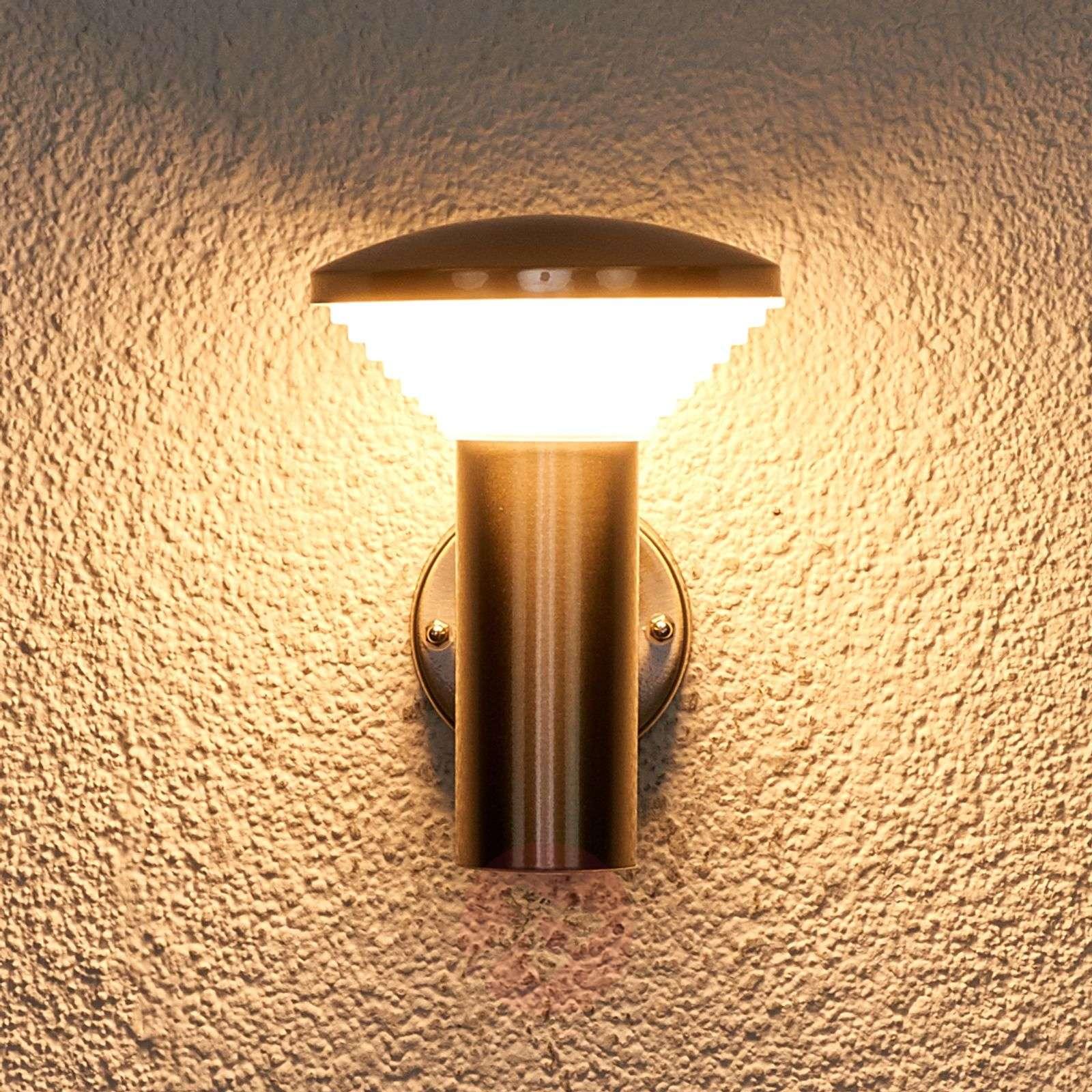 LED-ulkoseinävalaisin Tiga ruostum. teräksestä-9988071-011