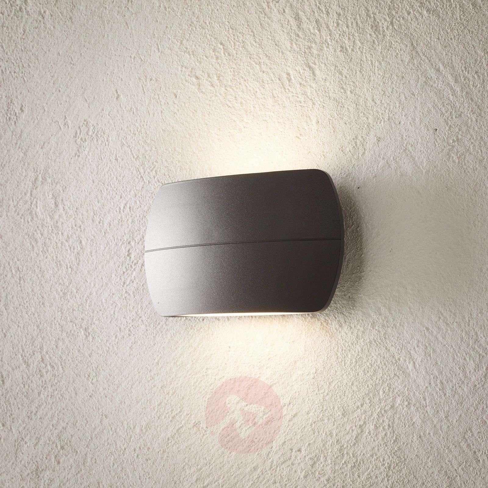 LED-ulkoseinävalaisin Viktoria, tummanharmaa-9969124-02