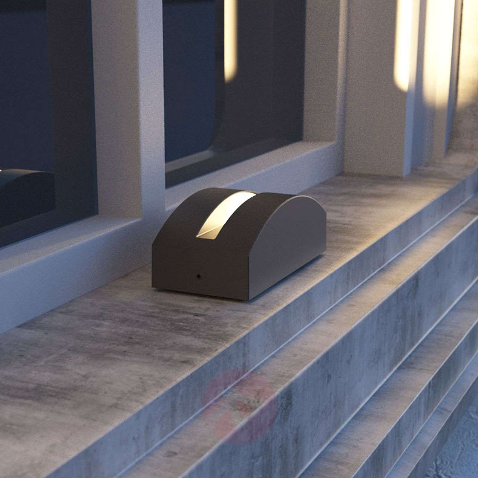 LED-ulkoseinävalo Marka, alumiini tummanharmaa-9616141-02
