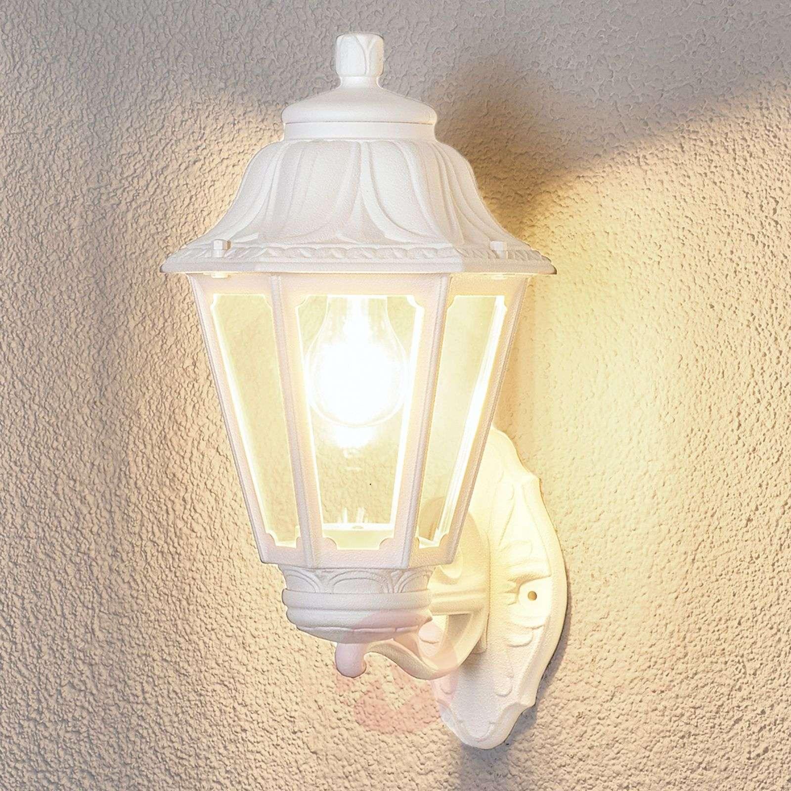 LED-ulkovalo Bisso Anna valkoinen ylösvalaiseva-3538047-01