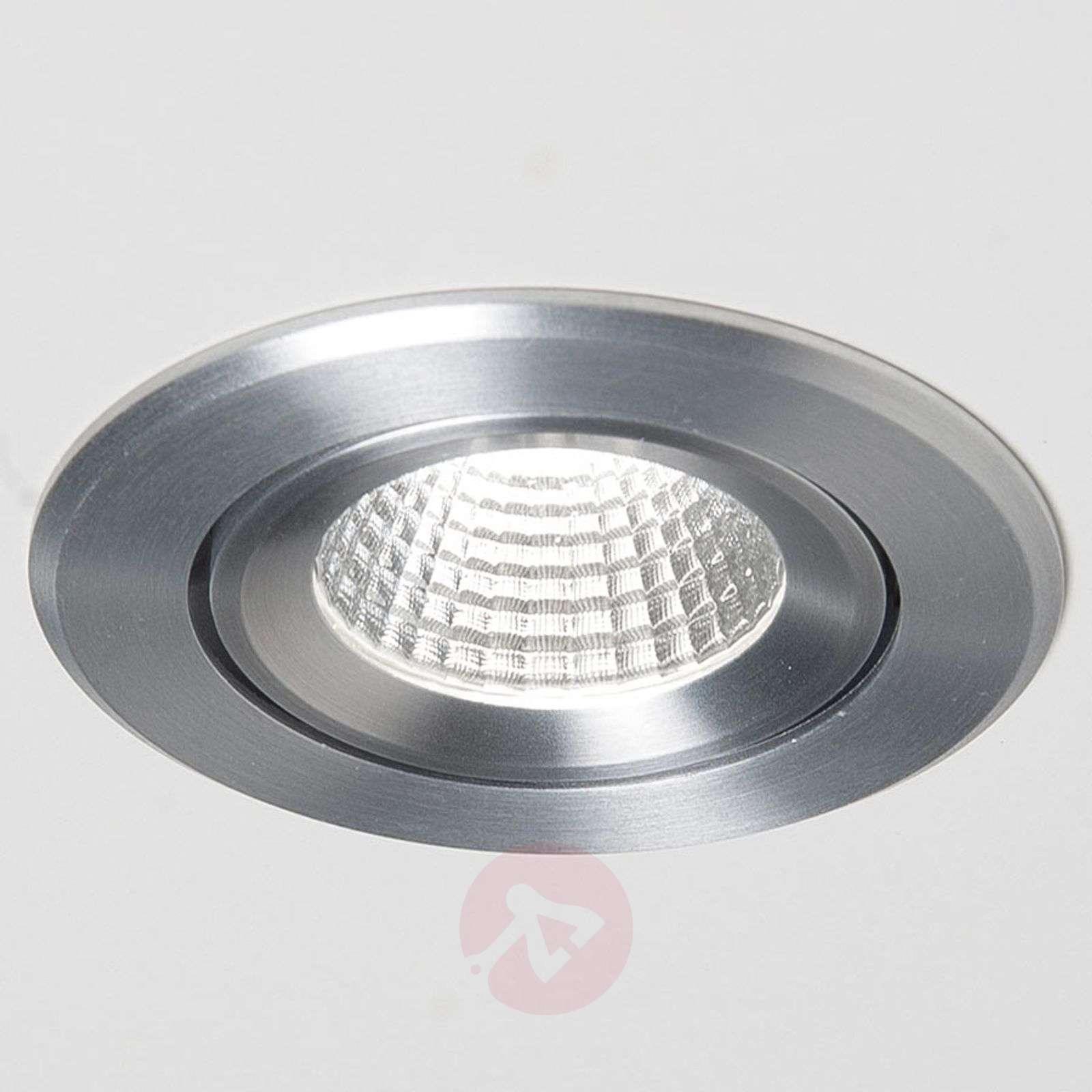 LED-uppospotti Agon Round 3000K, 40degree, alumiini-6523700-01