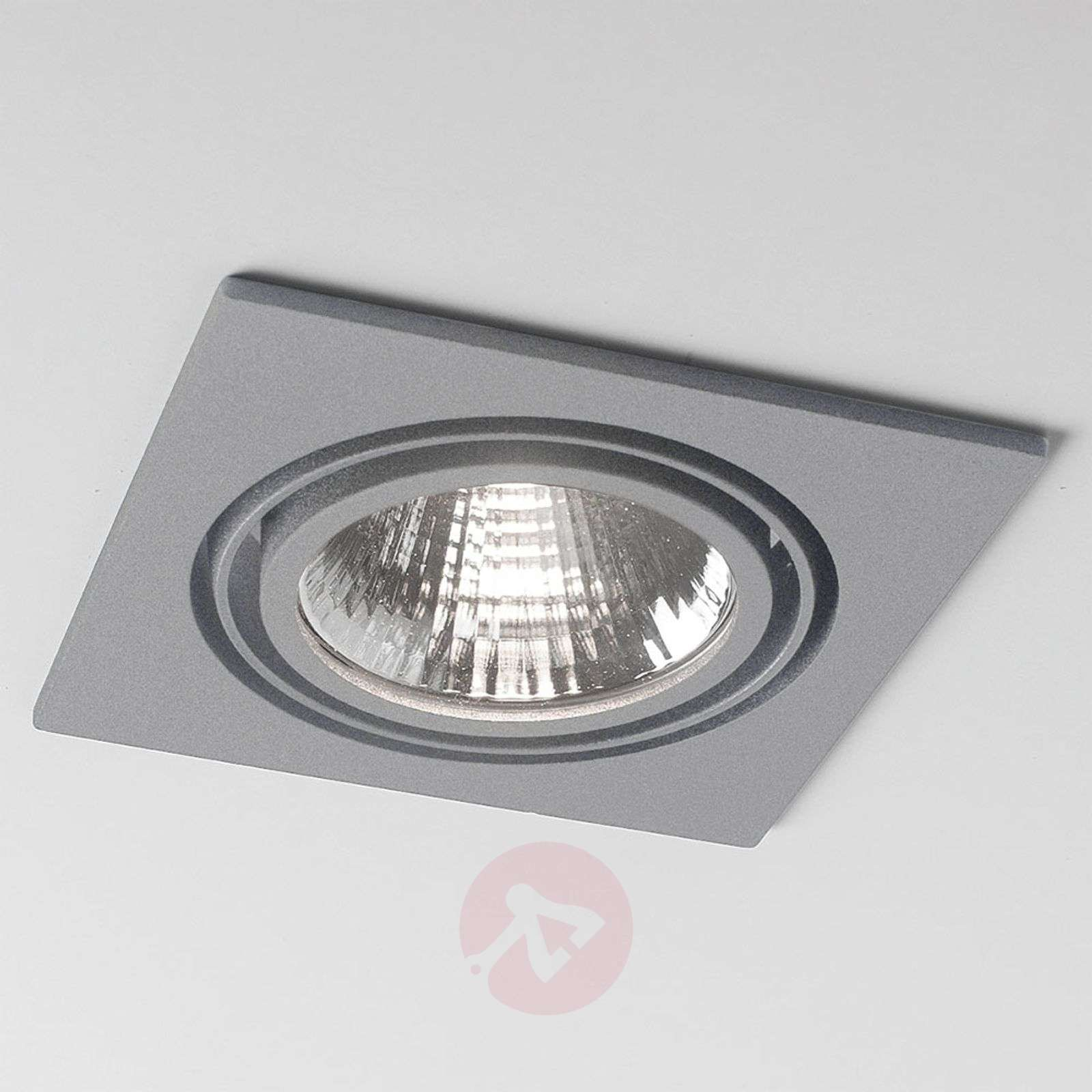 LED-uppospotti Now 2 Square, hopea, medium-6523718X-01