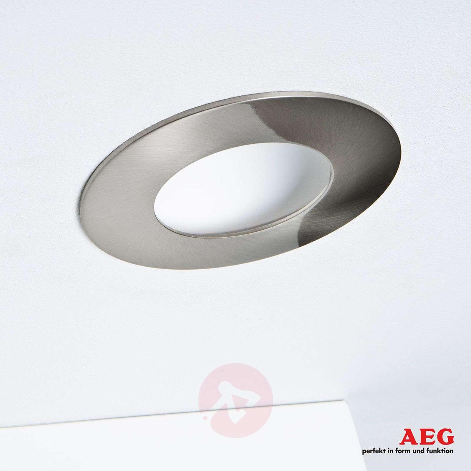 LED-uppospotti Orbita, 3-osainen, matta nikkeli-3057046-01